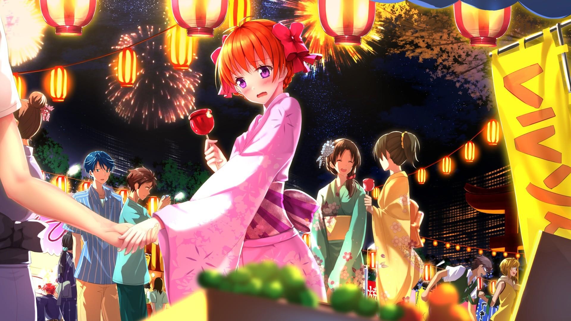 Wallpaper Redhead Anime Girls Blushing Gekkan Shoujo Nozaki Kun