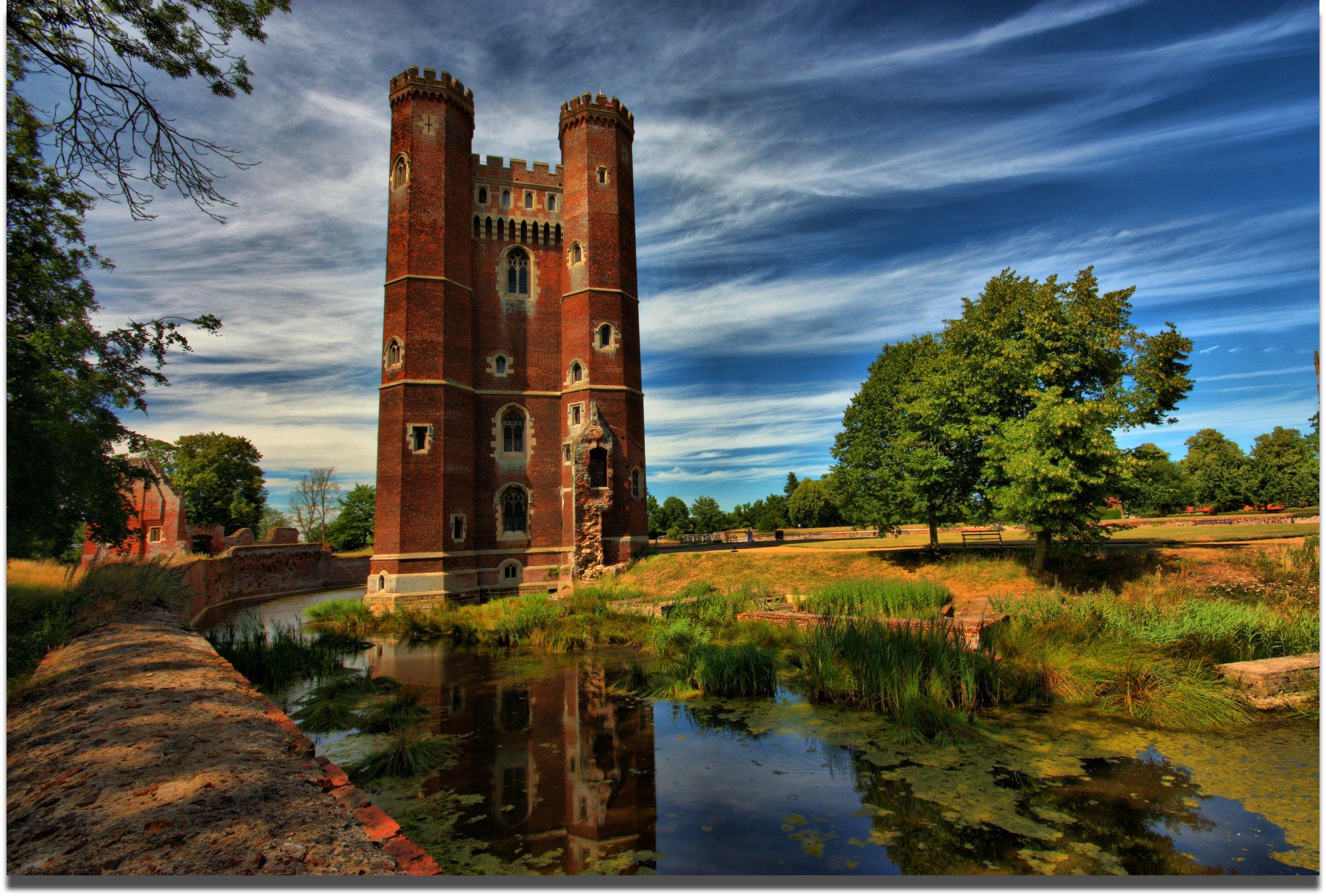 Wallpaper : reflection, castle, lincolnshire, picnik ...