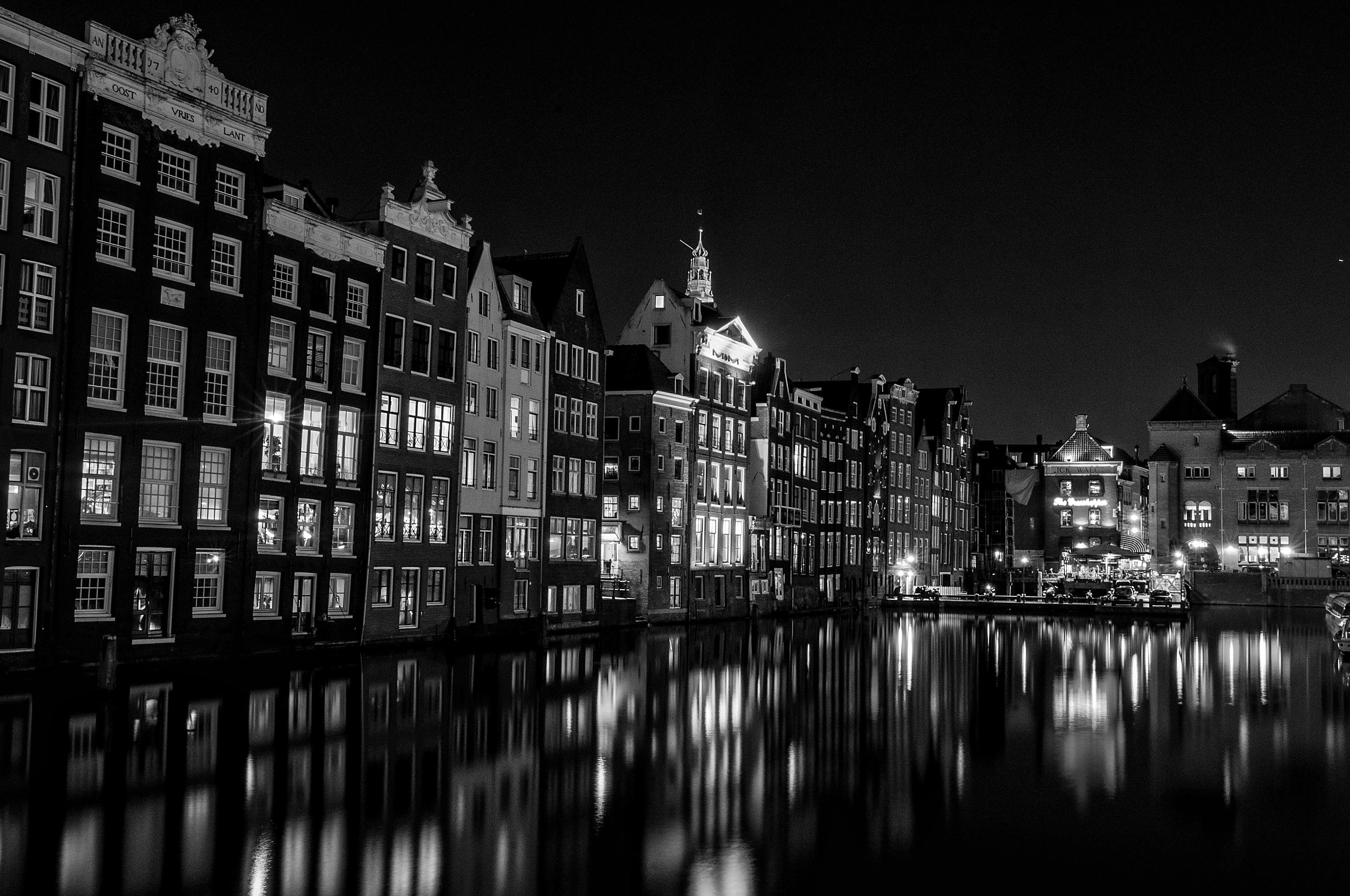 монохромные фото города внимание сорт