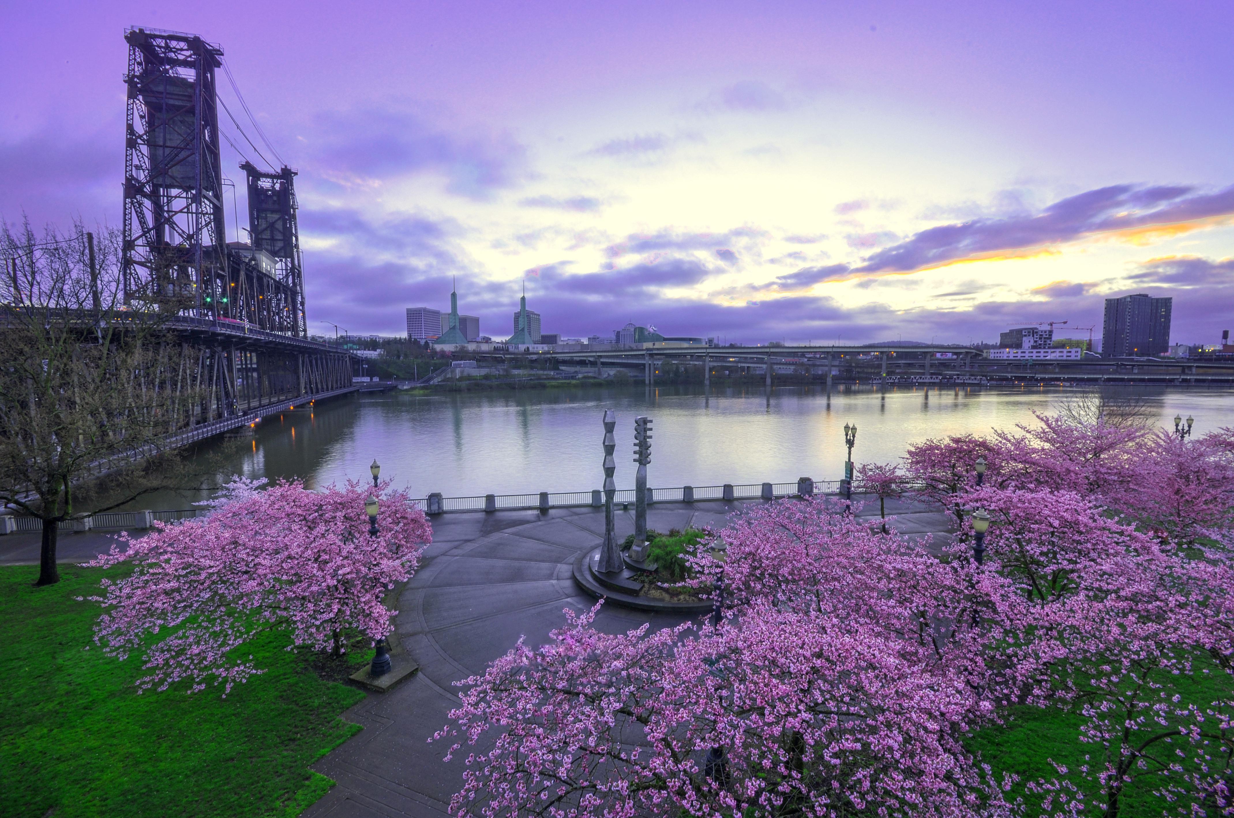 Обои Пейзаж, Весна, Вода. Города foto 8