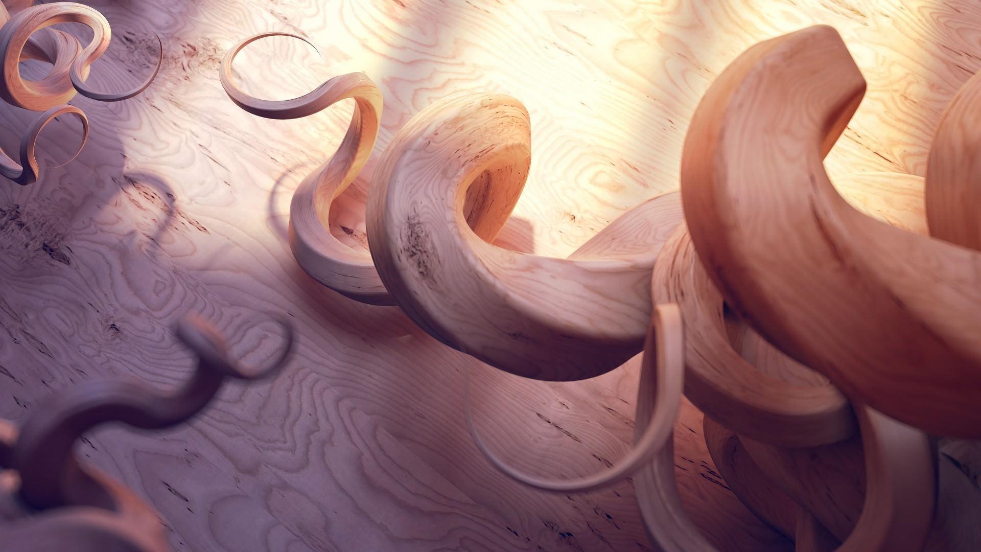 Wallpaper : reflection, shadow, spiral, wood, circle, ART