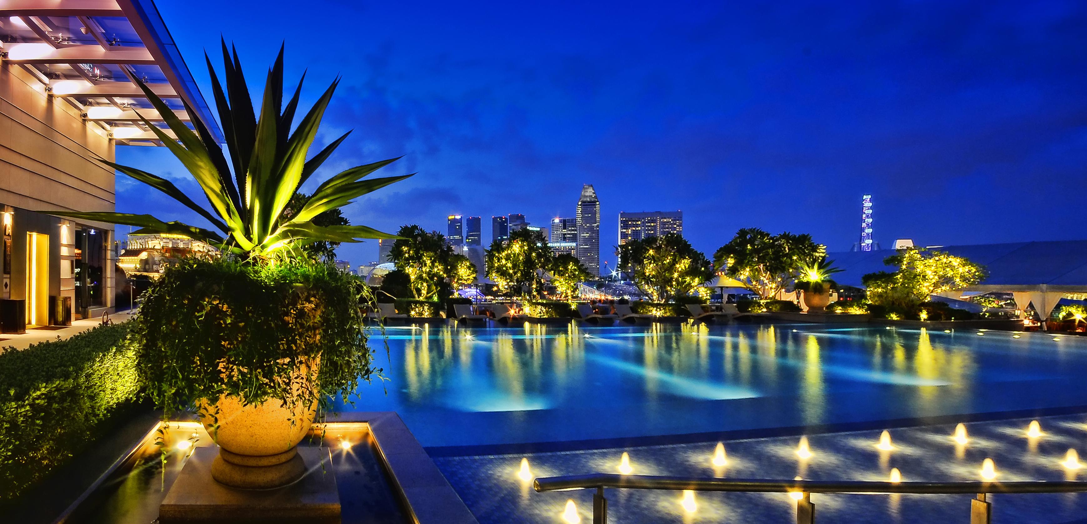 Hintergrundbilder : Erholungsort, Eigentum, majorelle blue, Pool ...