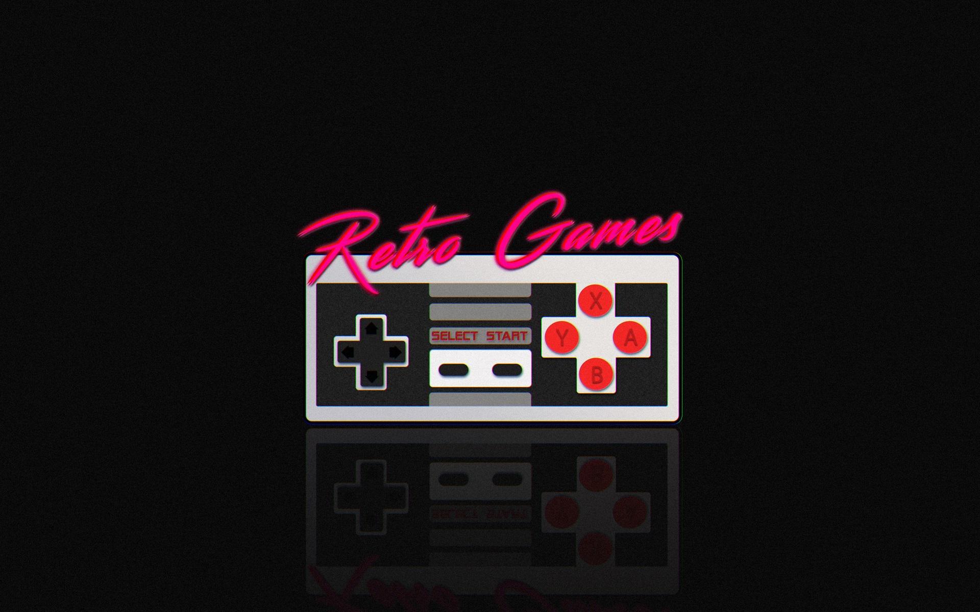 Fondos De Pantalla Retro Juegos Neon Sega Nintendo Ds Vendimia