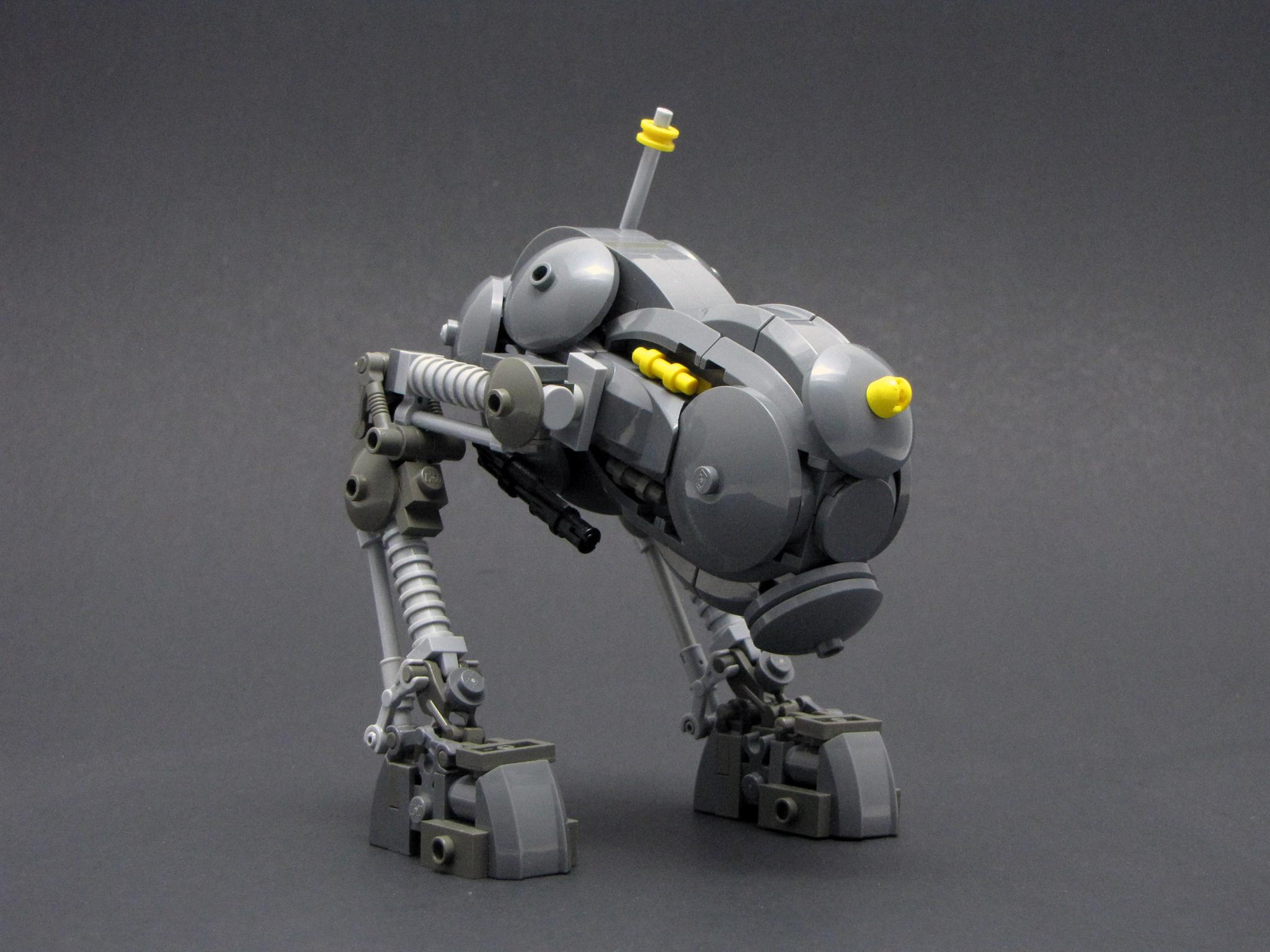 Как сделать своего боевого робота 286