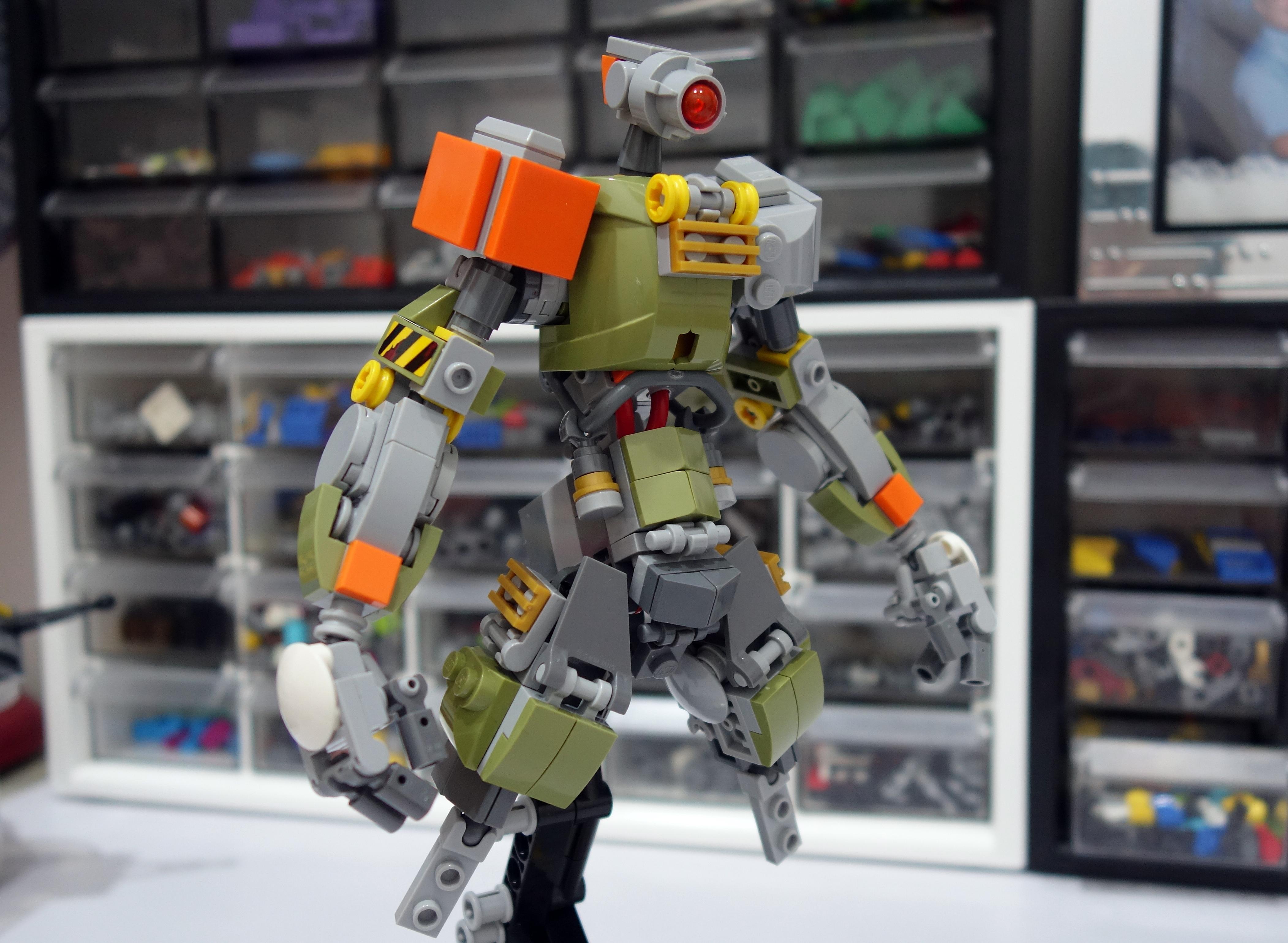 Картинки крутых роботов из лего