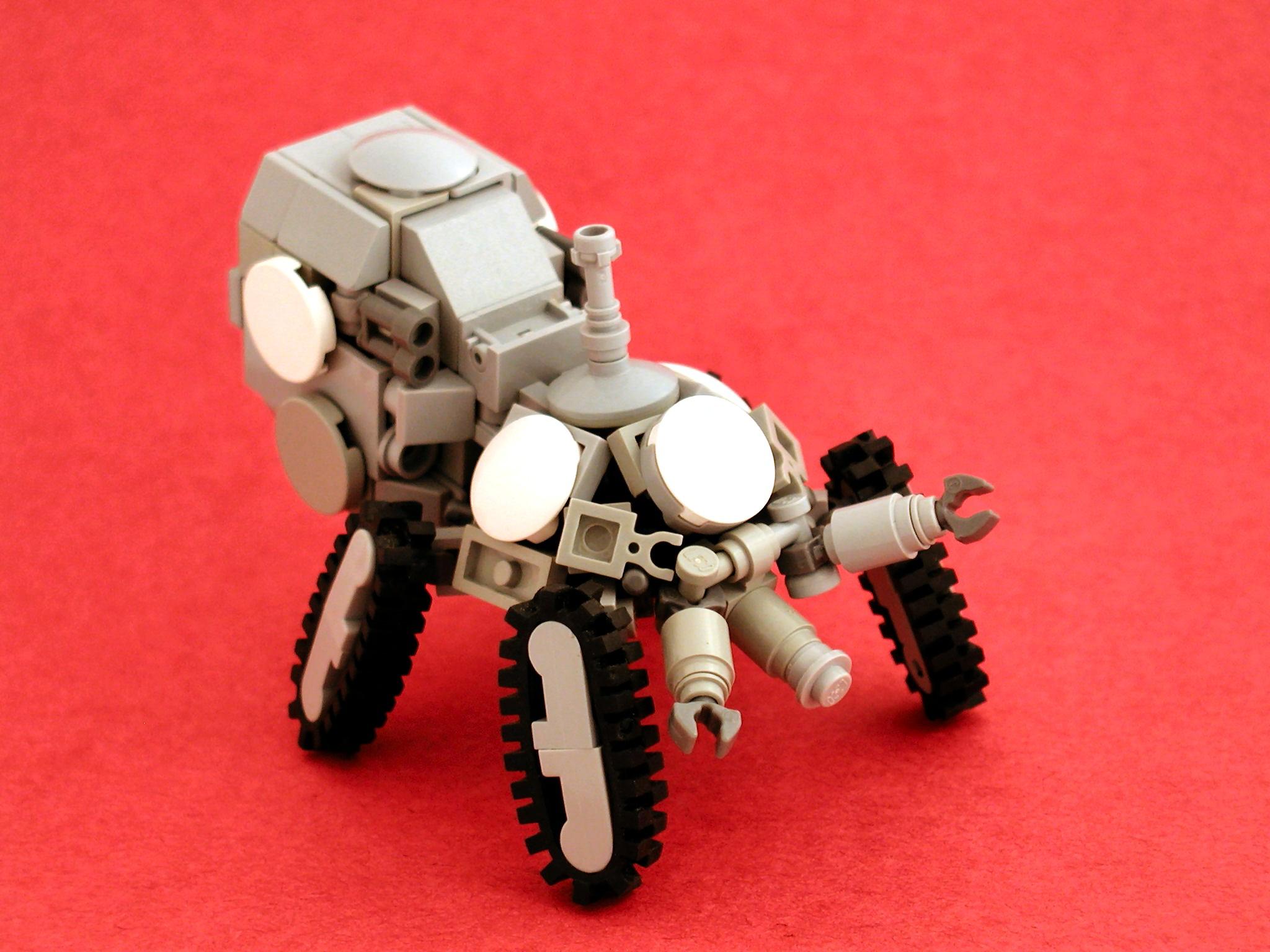 デスクトップ壁紙 ロボット レゴ メカ おもちゃ 機械 タチコマ