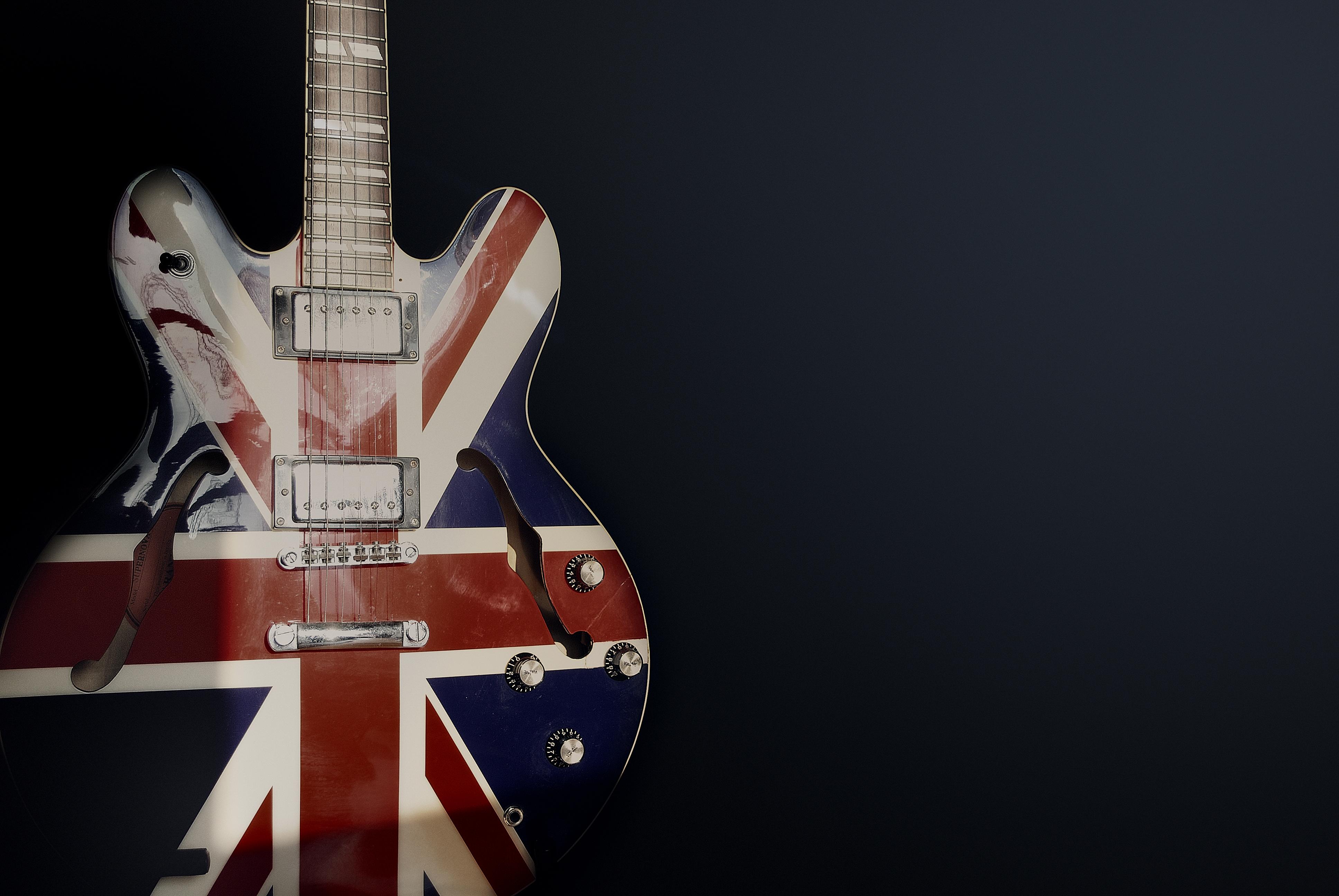 デスクトップ壁紙 岩 音楽 イギリス人 エレキギター 光 歌