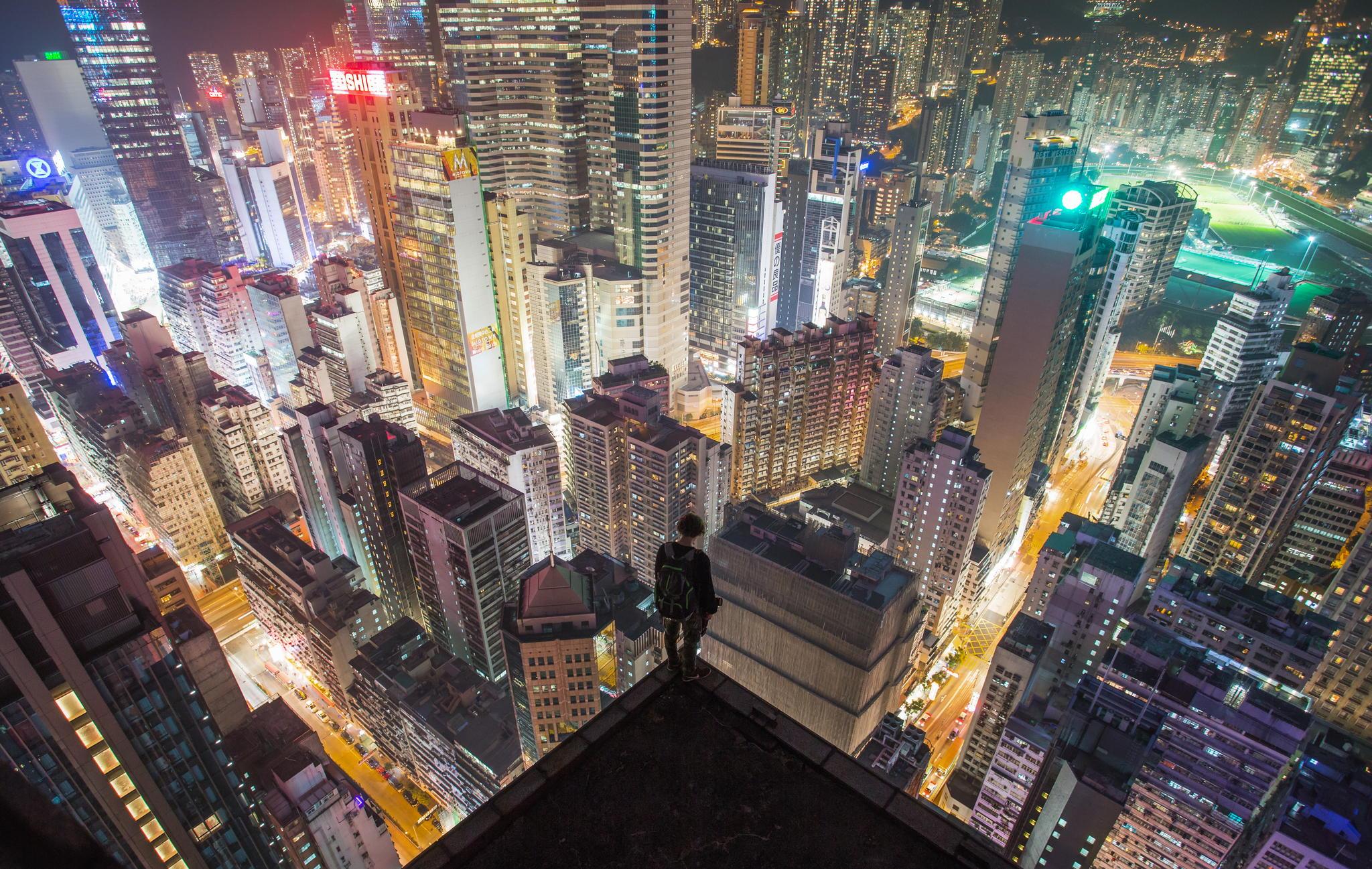 Картинки вид города с крыши