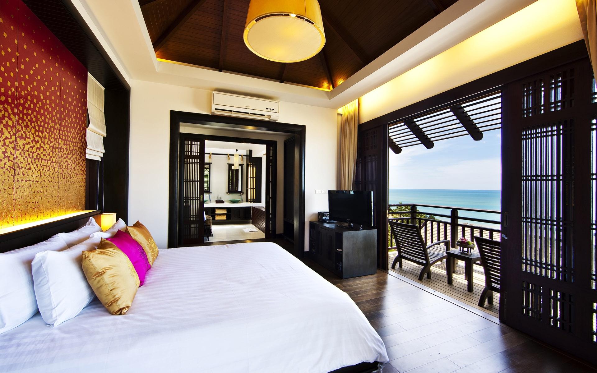 Fondos de pantalla : habitación, cama, casa, balcón, recurso, Cuarto ...