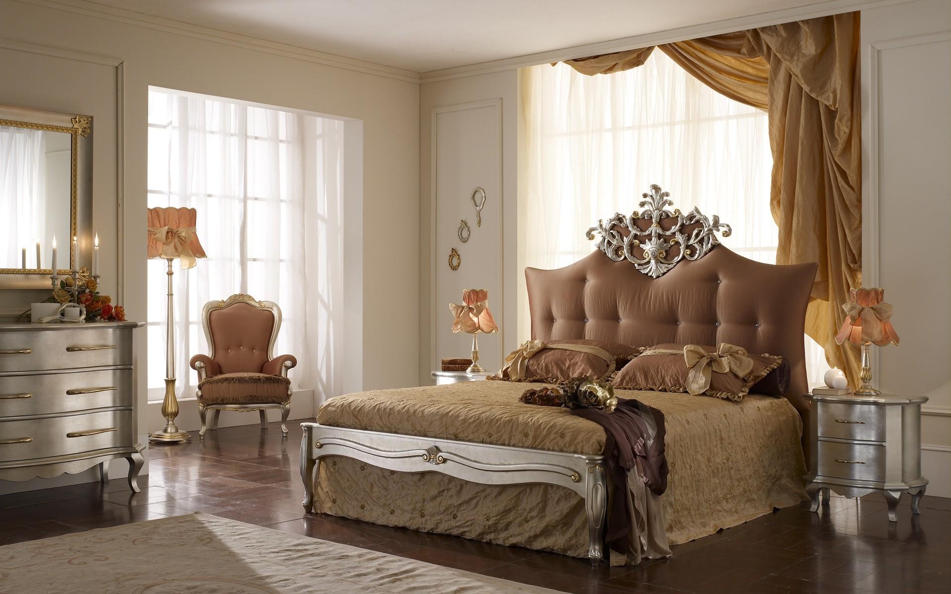 Zimmer Bett Holz Vorhang Schlafzimmer Innenarchitektur Immobilien Schön  Dekoration Entwurf Stock Zuhause Hartholz Möbel Textil