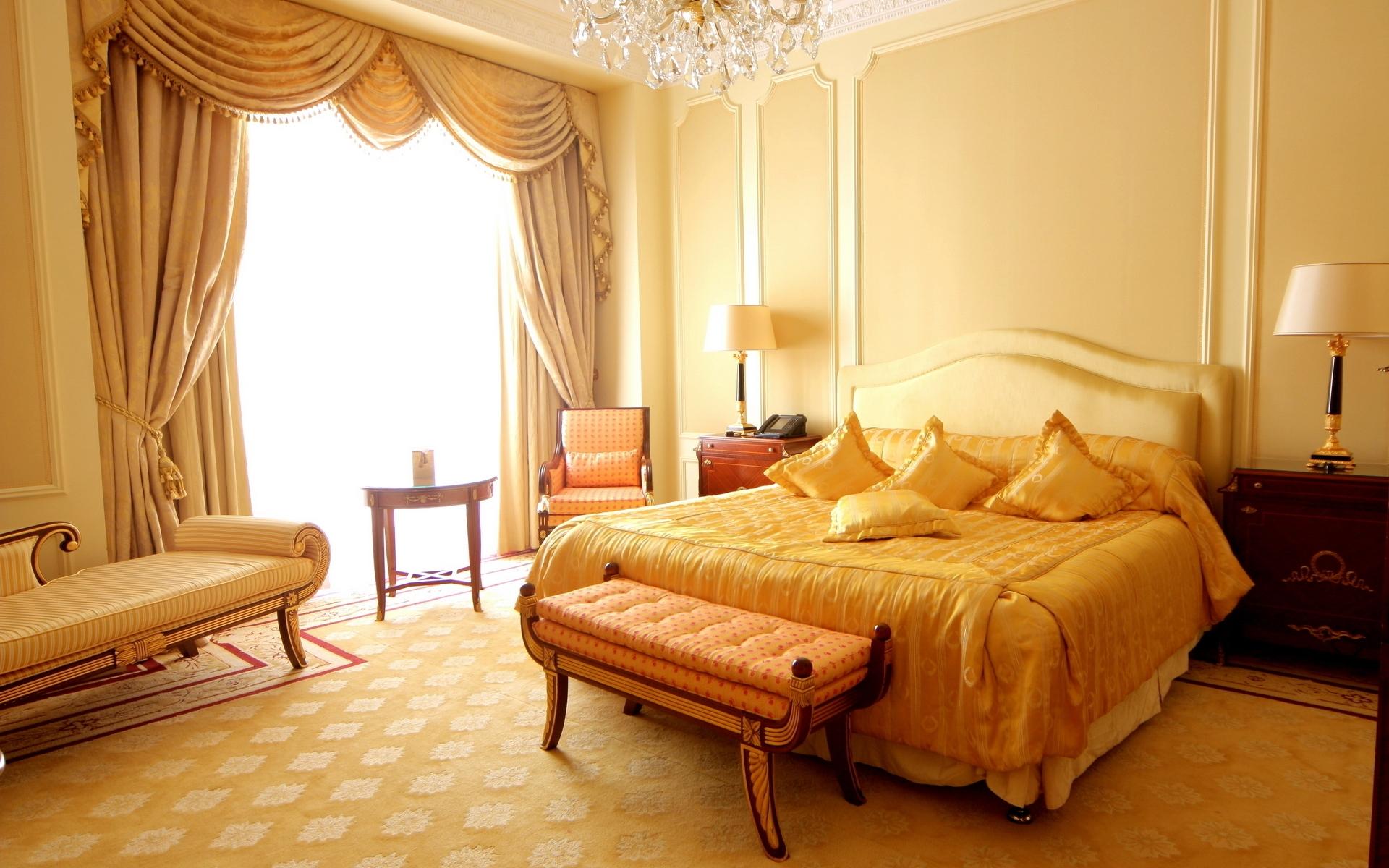 Camera Da Letto Giallo : Sfondi camera giallo sedia le tende camera da letto