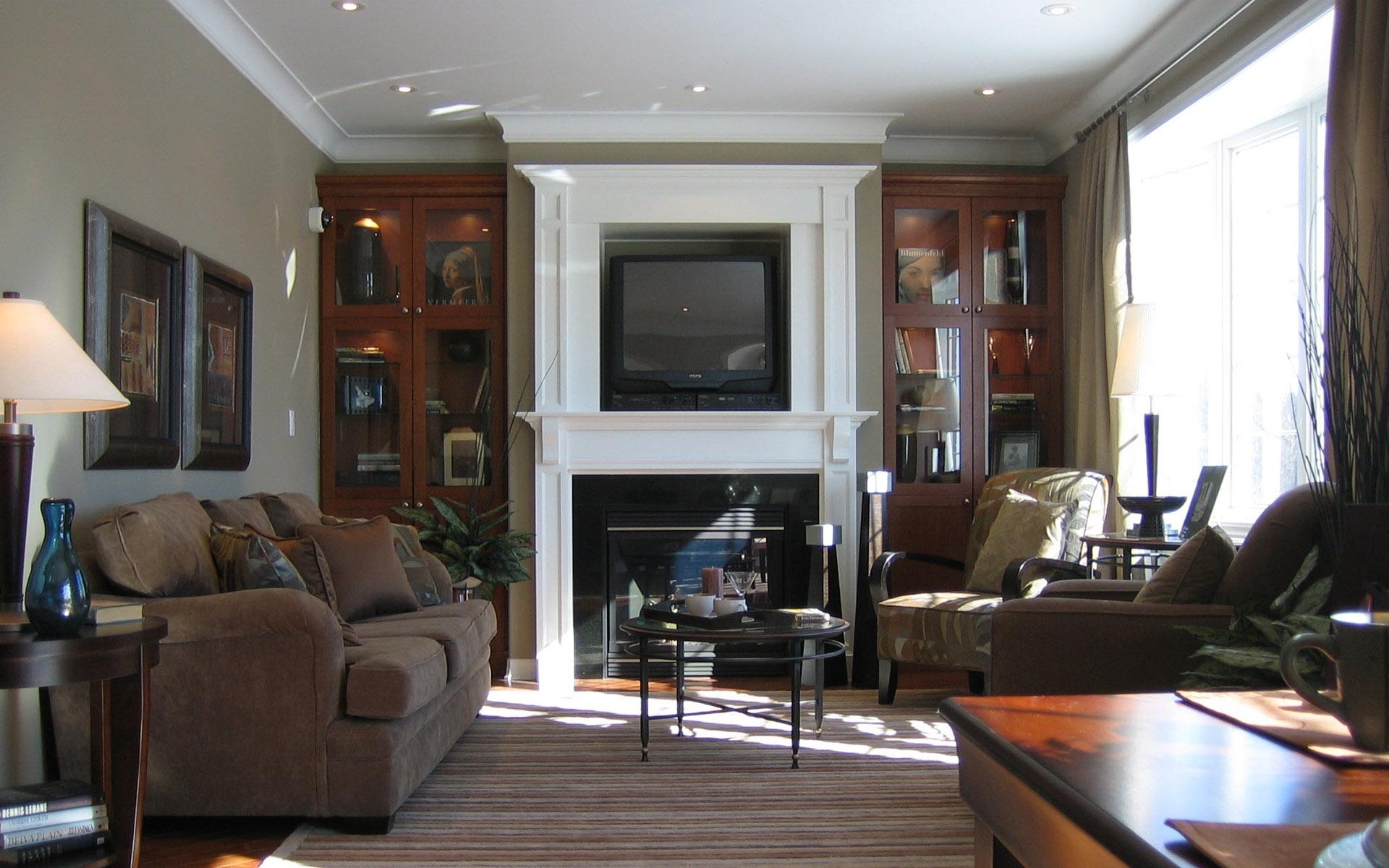 Fond d\'écran : chambre, intérieur, la télé, Design d\'intérieur ...