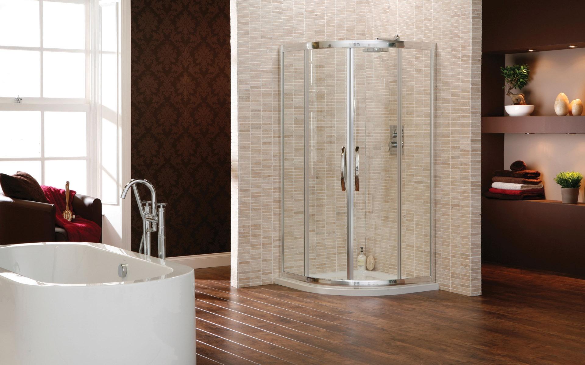 Fondos de pantalla habitaci n interior ba era ducha for Piso ducha bano