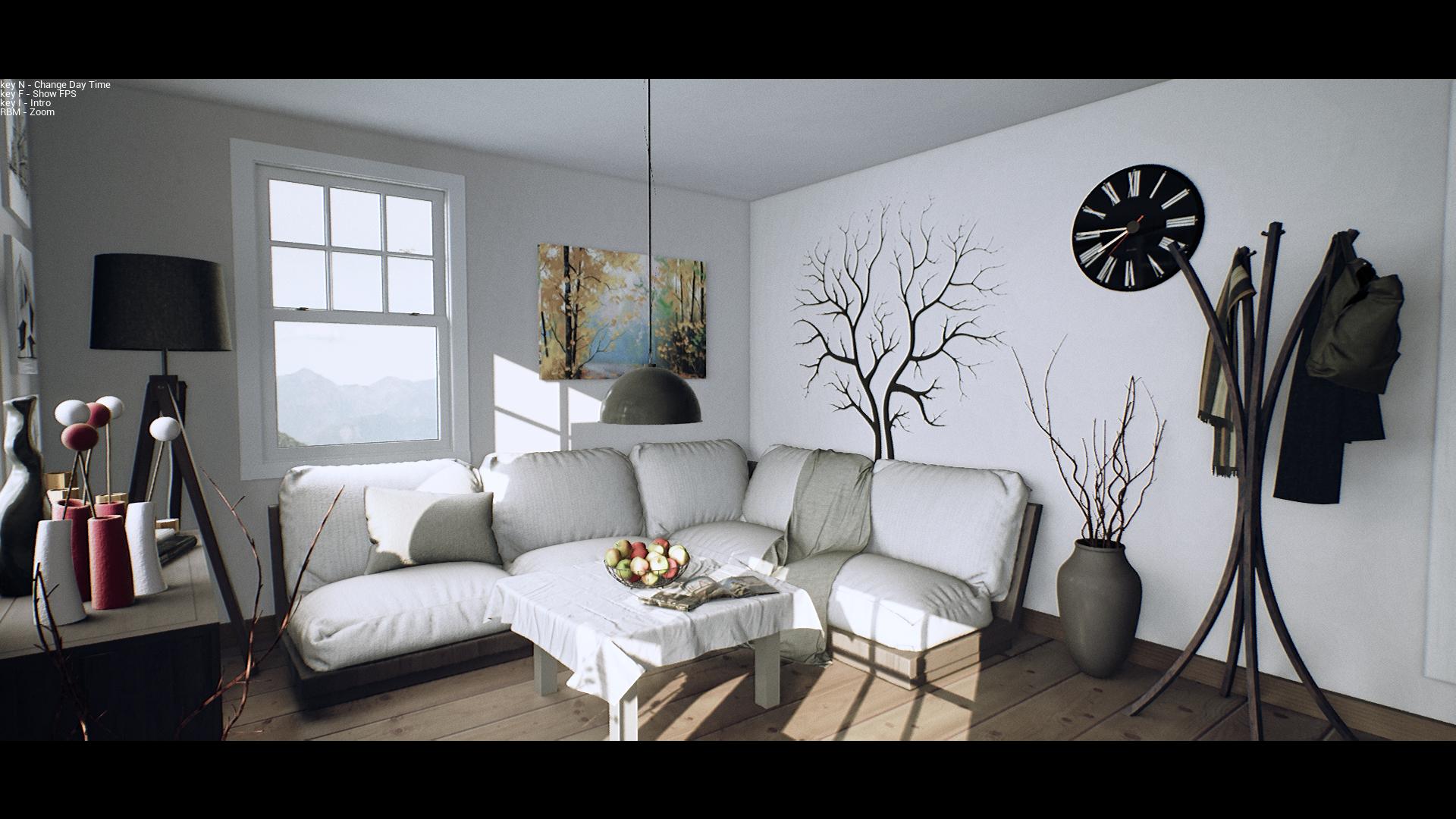 Hintergrundbilder : Zimmer, Innenarchitektur, Unreal Engine 4 ...
