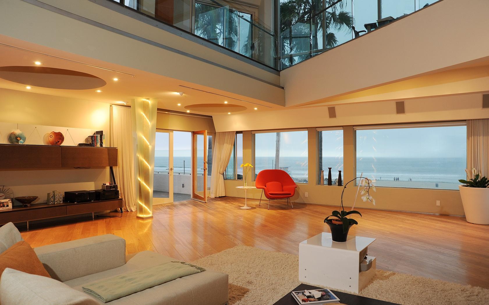 Fondos de pantalla habitaci n interior casa moderno for Estilo moderno diseno de interiores caracteristicas