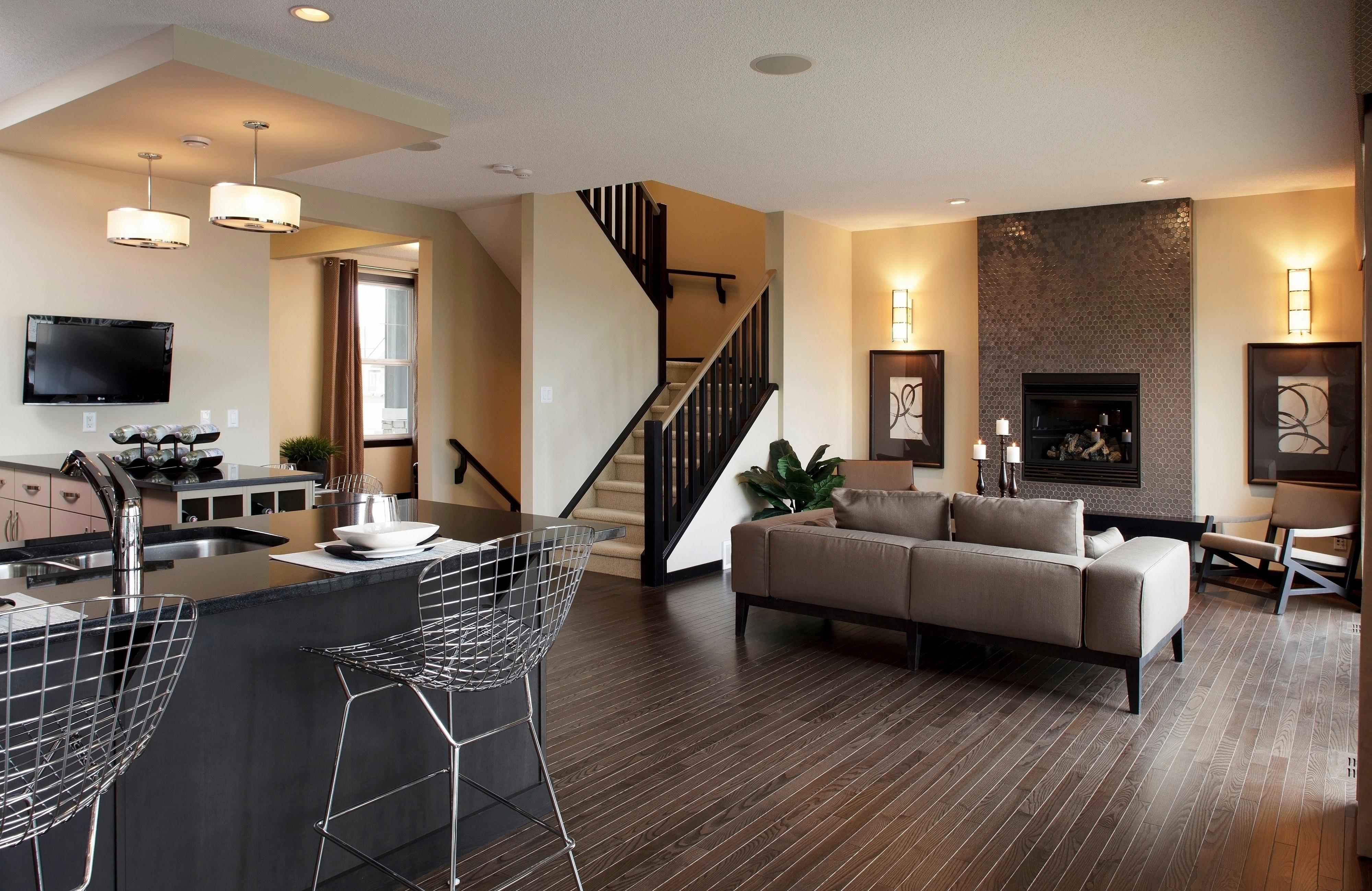 Papel De Parede Quarto Interior Design De Interiores Estado  -> Piso Parede Sala