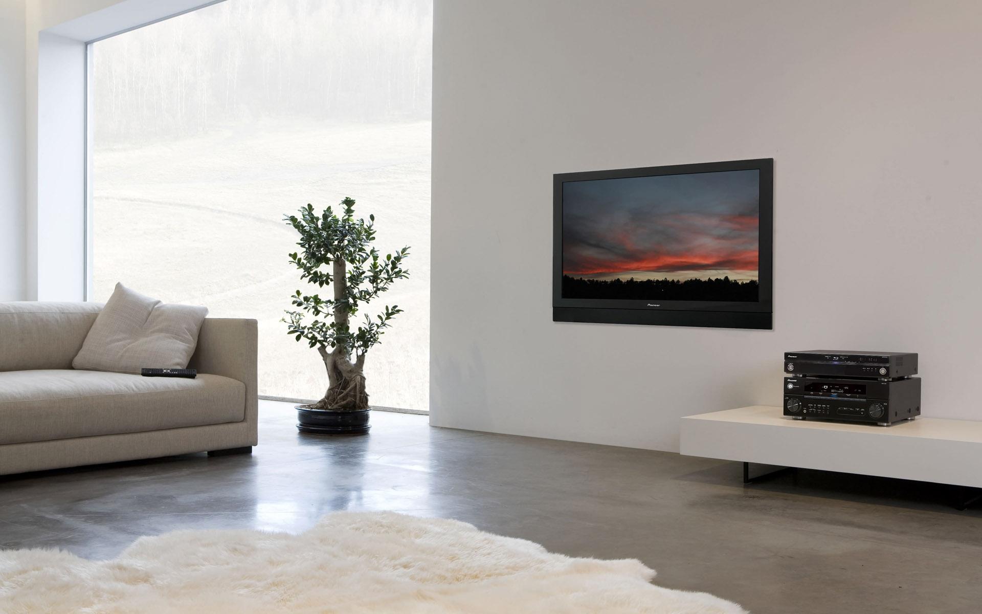 Fabelhaft Moderne Bodenbeläge Beste Wahl Zimmer Innere Mauer Holz Kamin Fernseher Innenarchitektur
