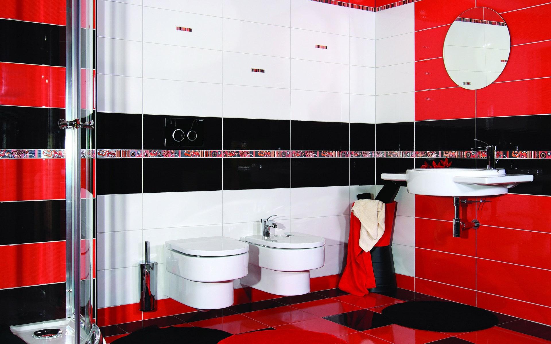 Hintergrundbilder : Zimmer, rot, Innenarchitektur, Badezimmer, Marke ...