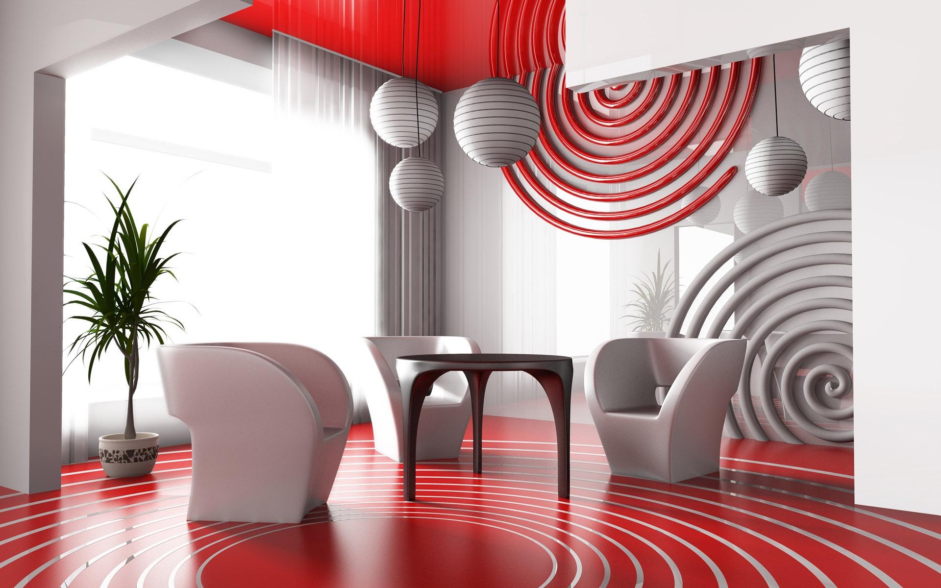 Rideaux Pour Salle A Manger Moderne fond d'écran : chambre, rouge, intérieur, mur, table, chaise
