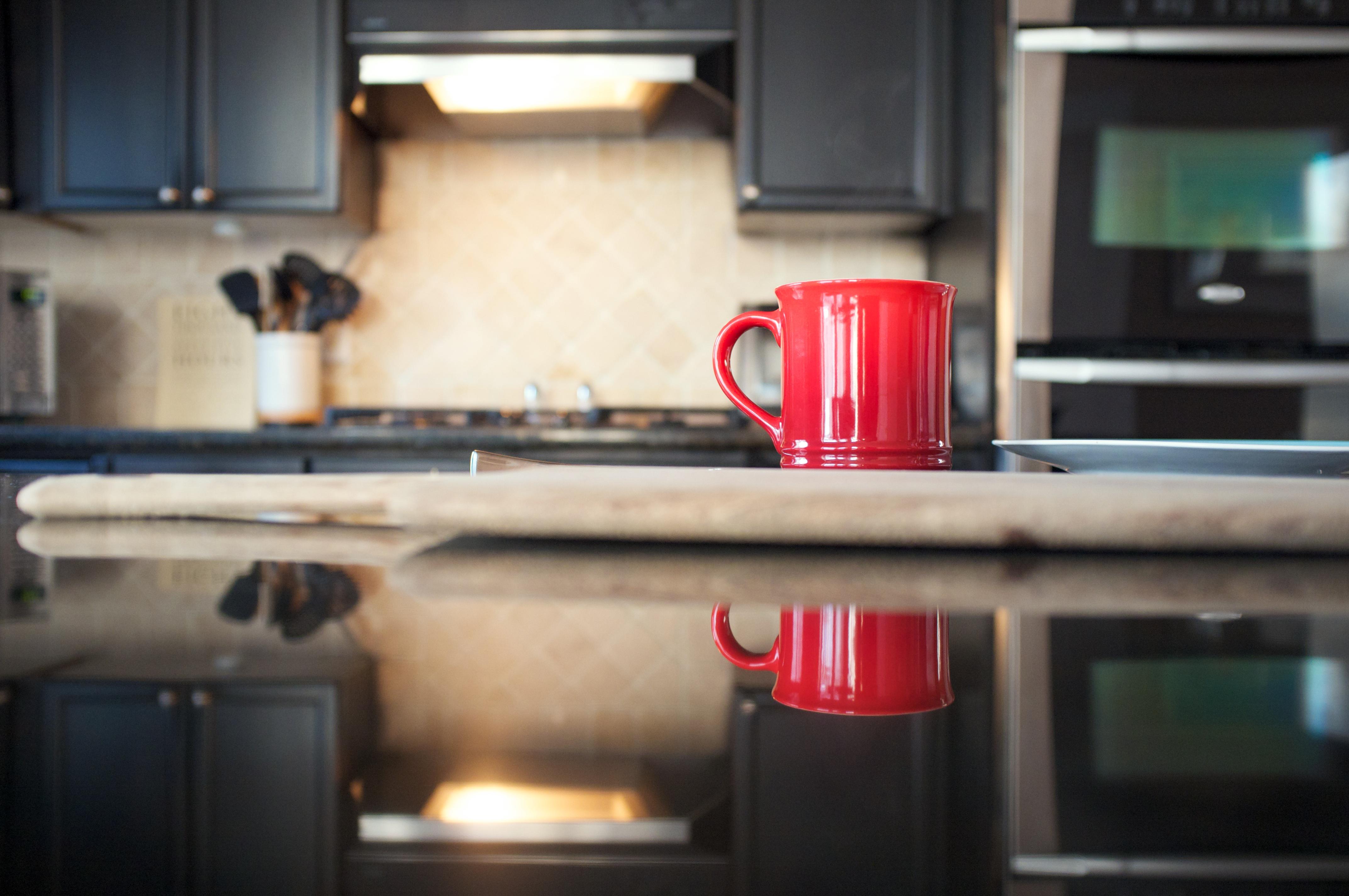 Wallpaper Room Table Coffee Morning Kitchen Bokeh