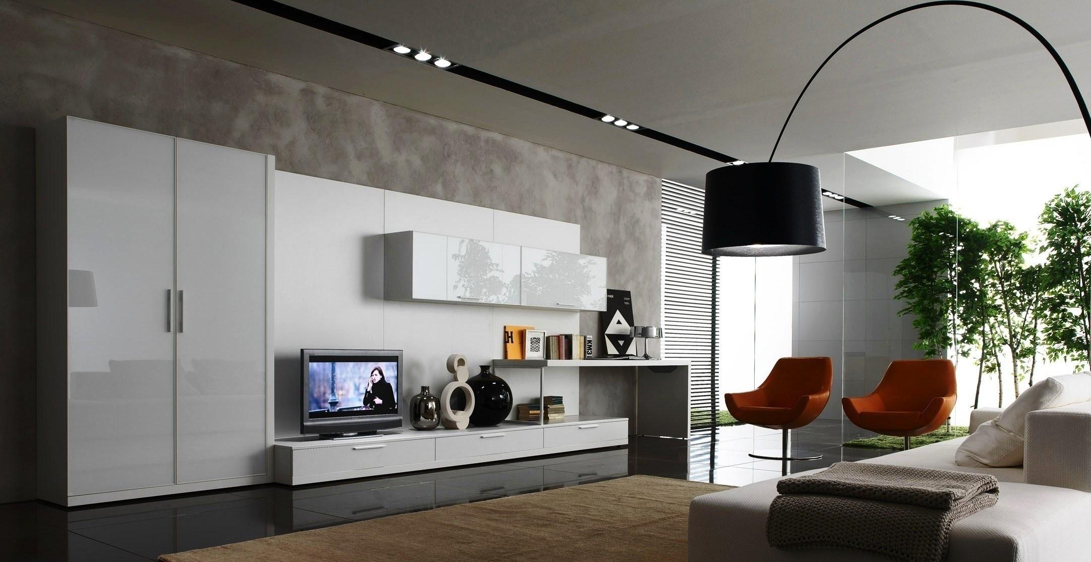 Baggrunde : værelse, væg, moderne, fjernsyn, Indretning, belysning ...