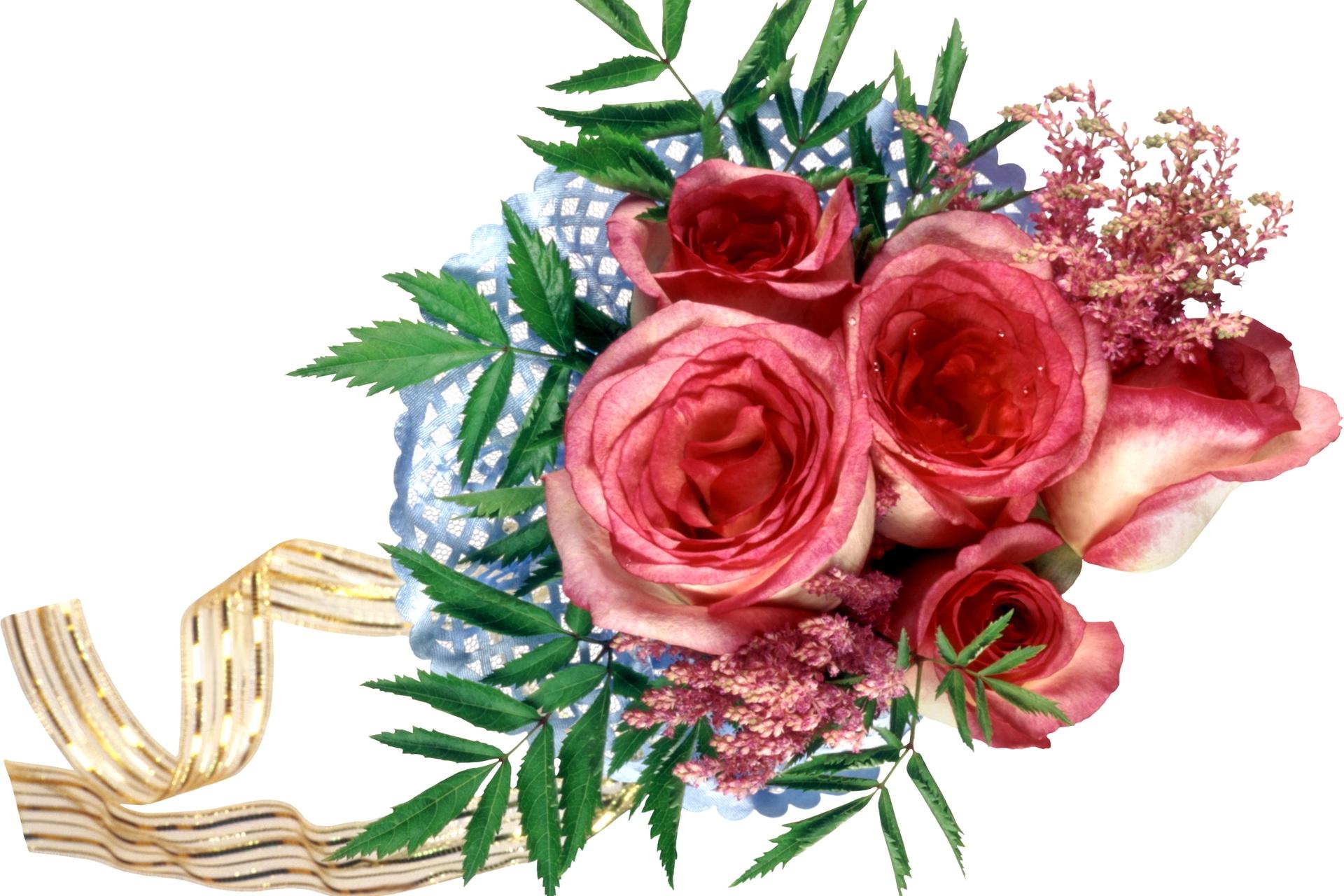 Papel De Parede Rosa Fita Flor Plantar Rosas Desenhar