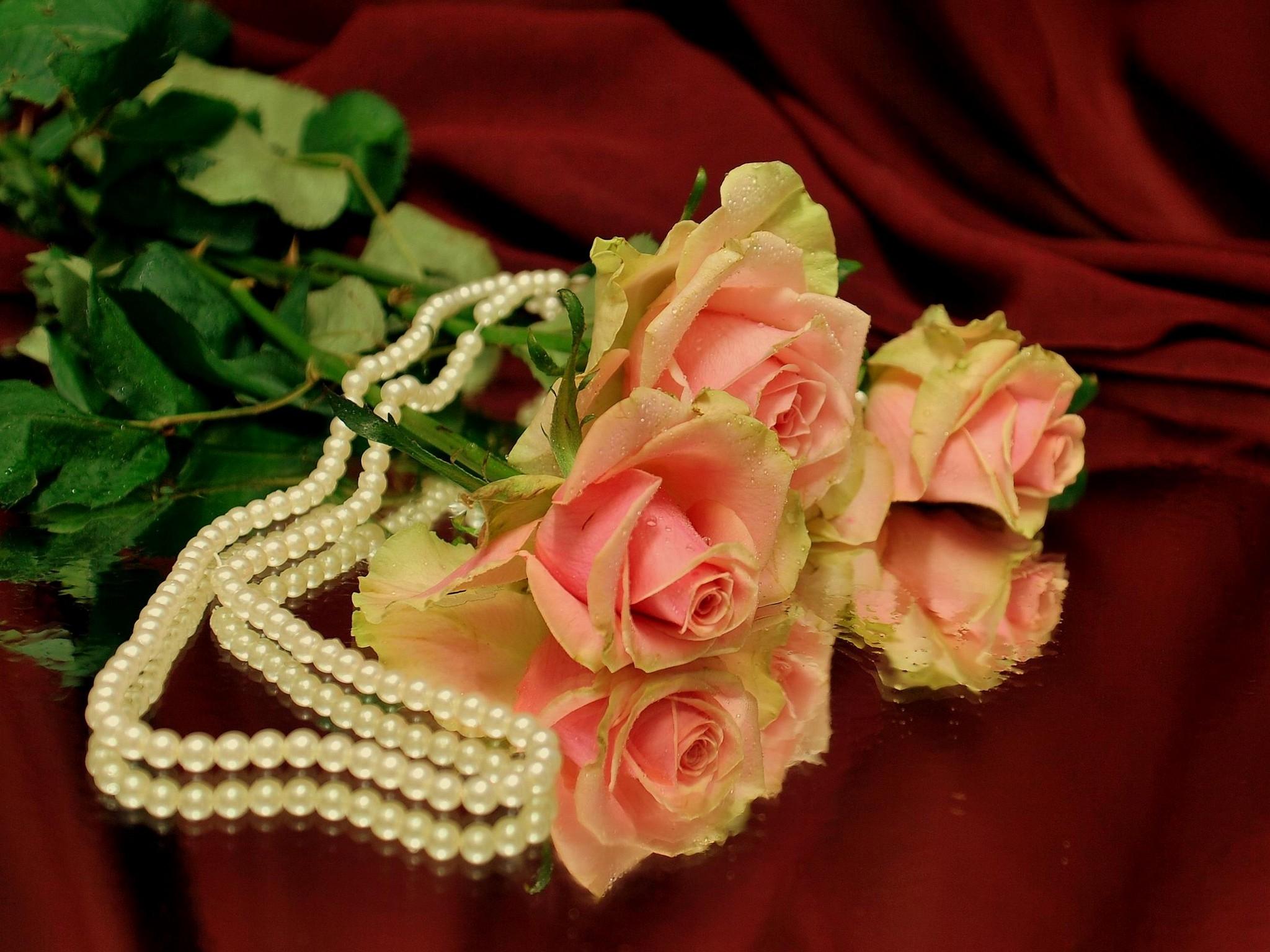 картинки на телефон жемчуг и цветы голавль