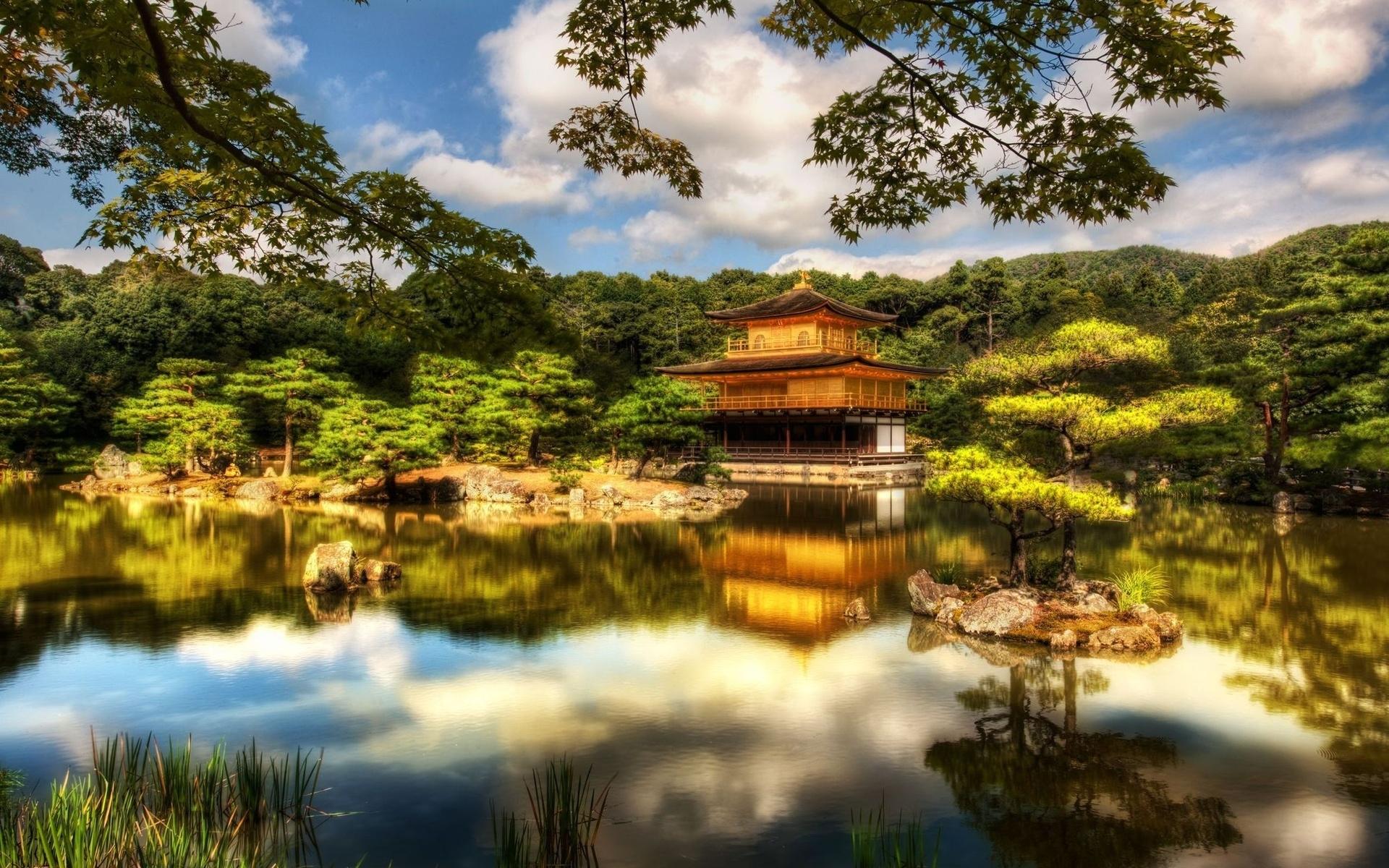 Ryoanji Zen Garden Japan Mirabell Gardens Austria
