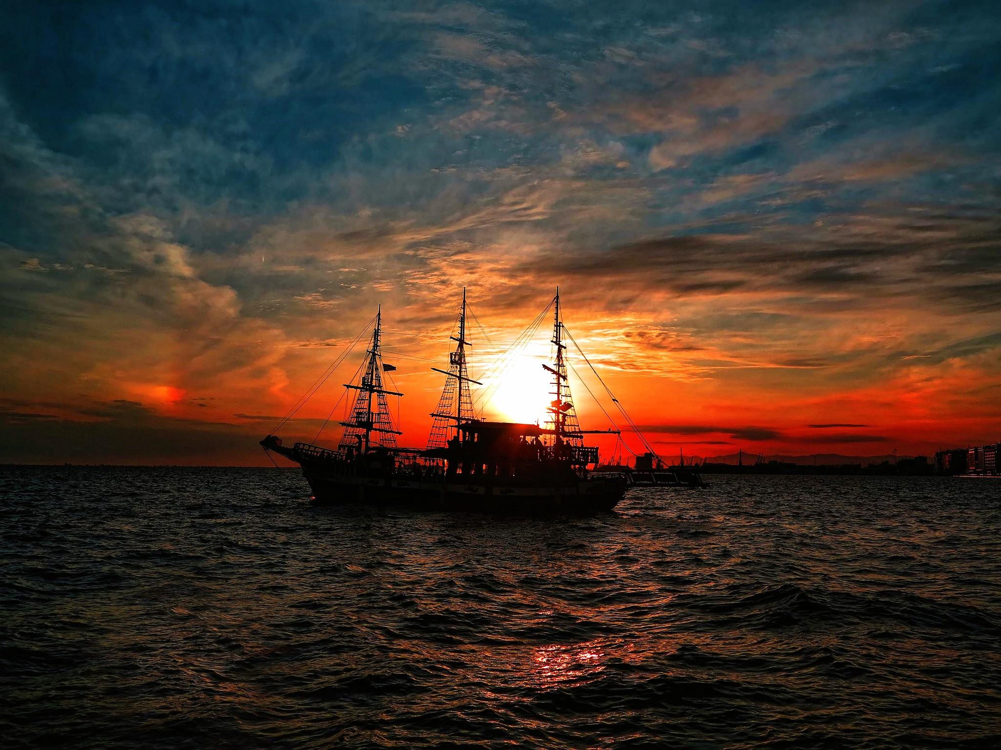 Serenity Ship Silhouette