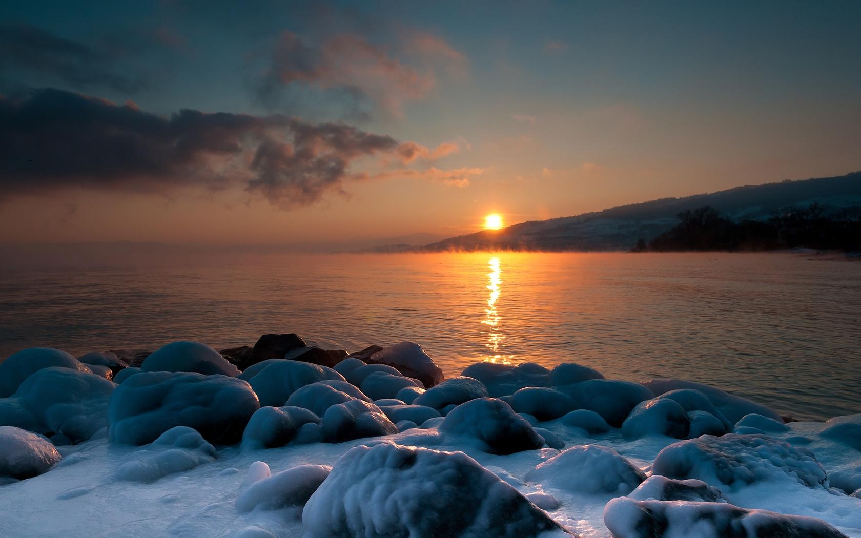 голубое море фотографии зимой сделать