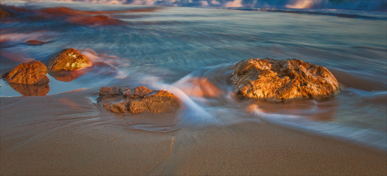 Wallpaper : scenic, wideangle, tide, sand, California