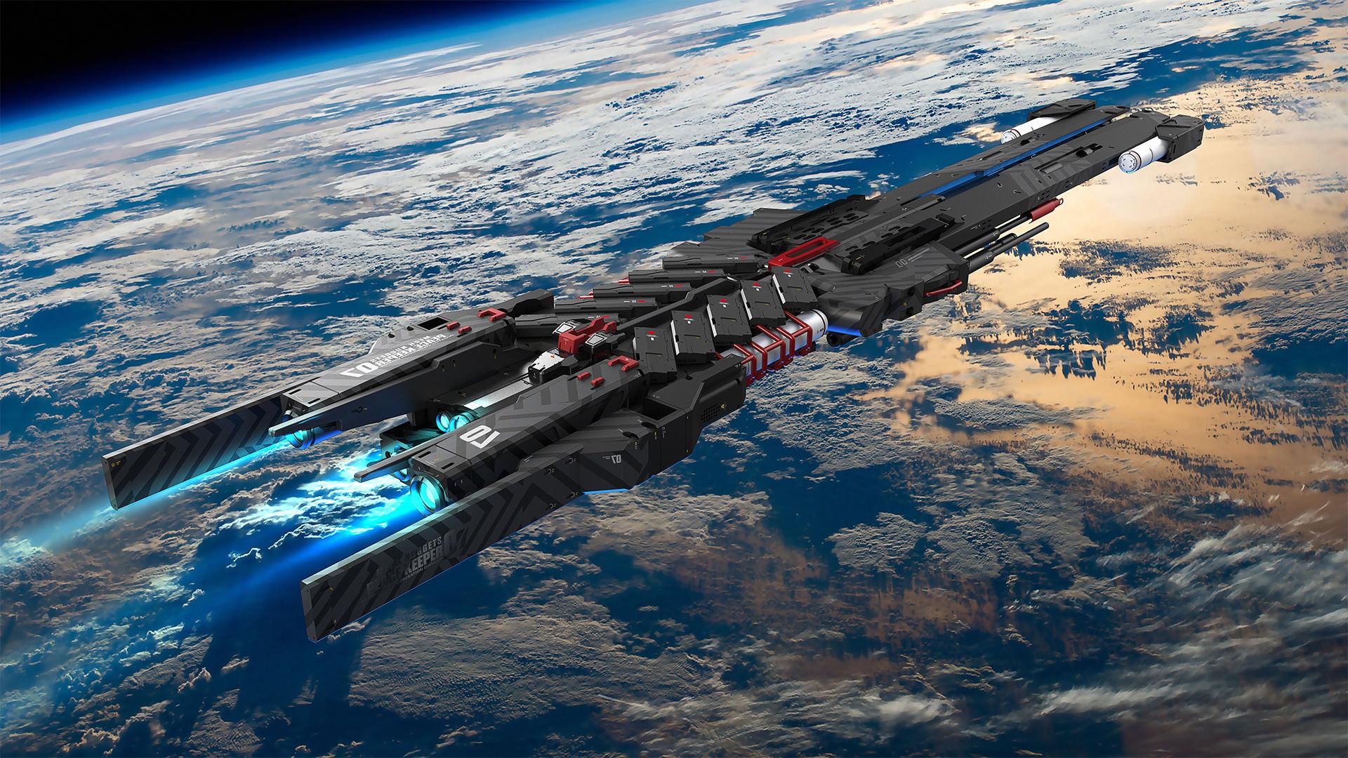 фото космических кораблей из фантастики соорудить навес