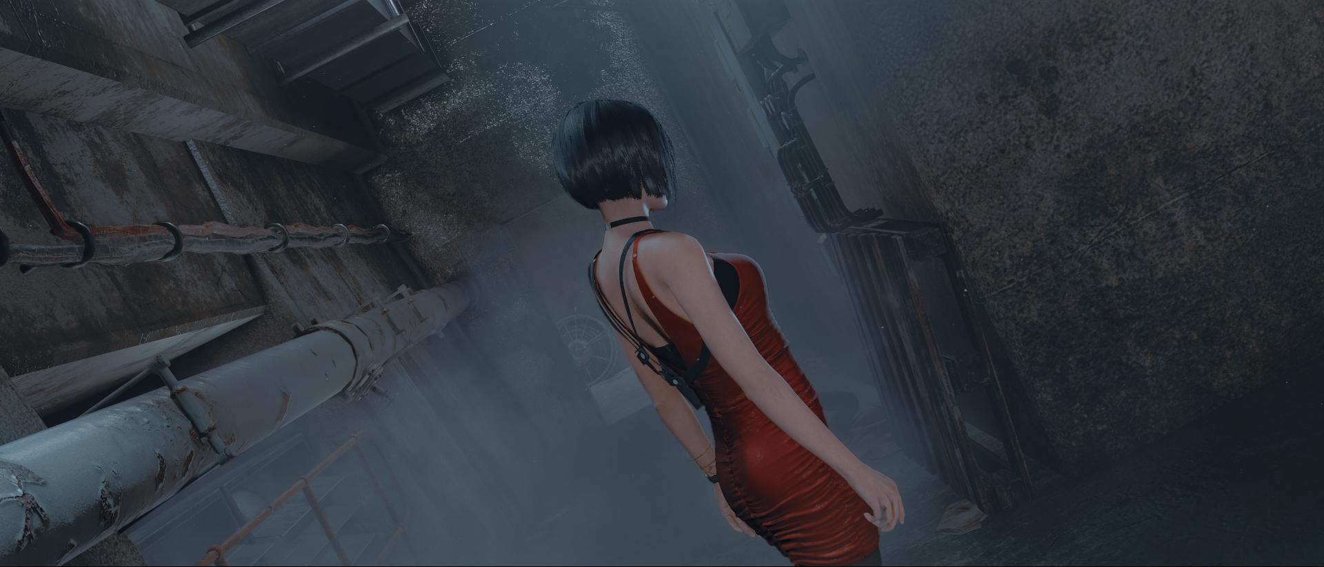 Wallpaper Screen Shot Resident Evil 2 Remake Ada Wong Video