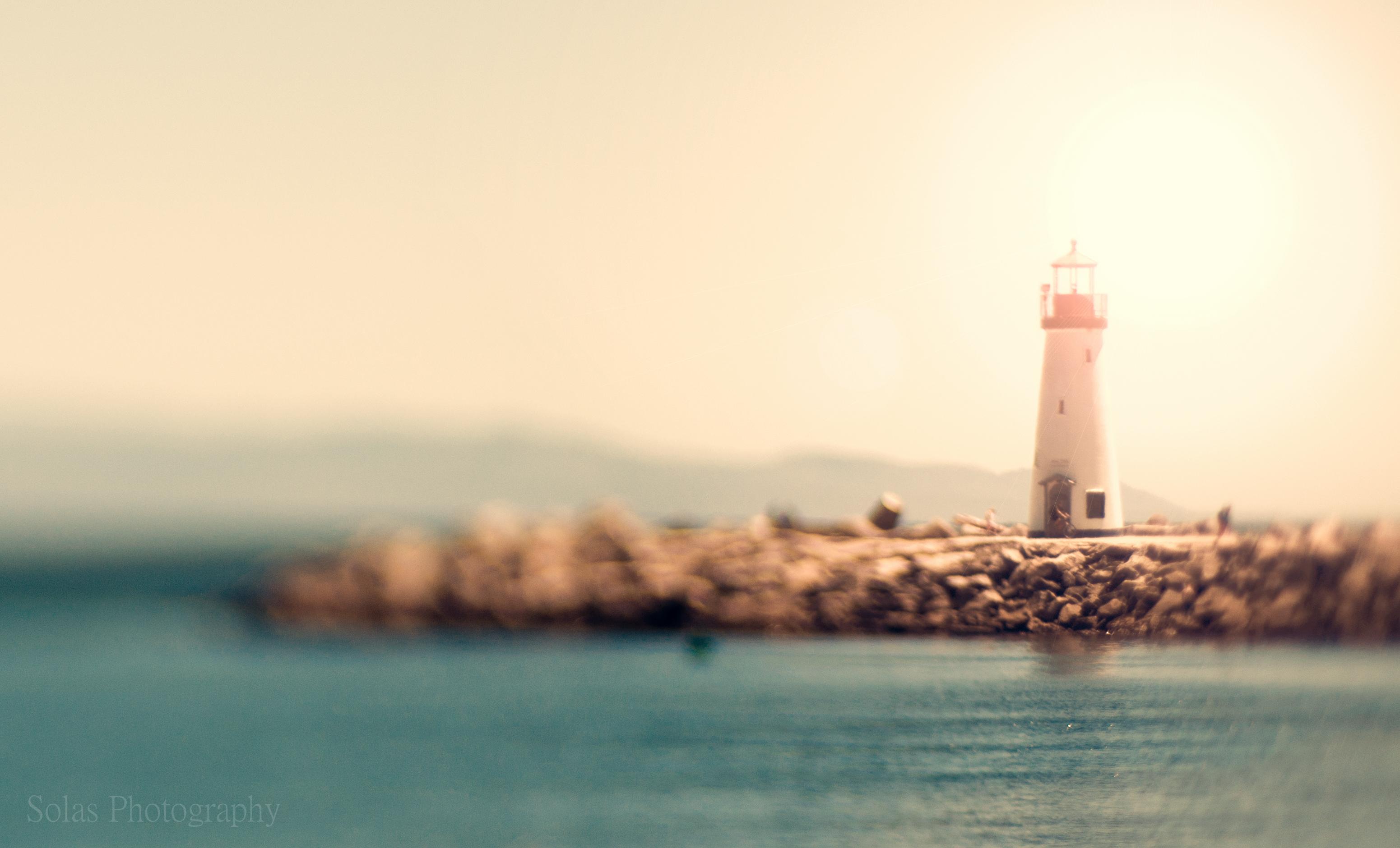 デスクトップ壁紙 湾 水 自然 空 家 落ち着いた 朝 タワー 波 海岸 灯台 太陽 カリフォルニア 地平線 ニコン ボケ 暖かい 色 柔らかい 輝き 海洋 日光 D7000 エッジ レンズ赤ちゃん 輝く 80 サンタクルーズ 塩辛い Edge80
