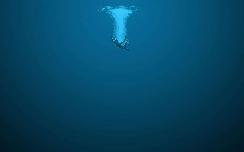 Sfondi Mare Blu Subacqueo Immersione Oceano Apnea 1440x900