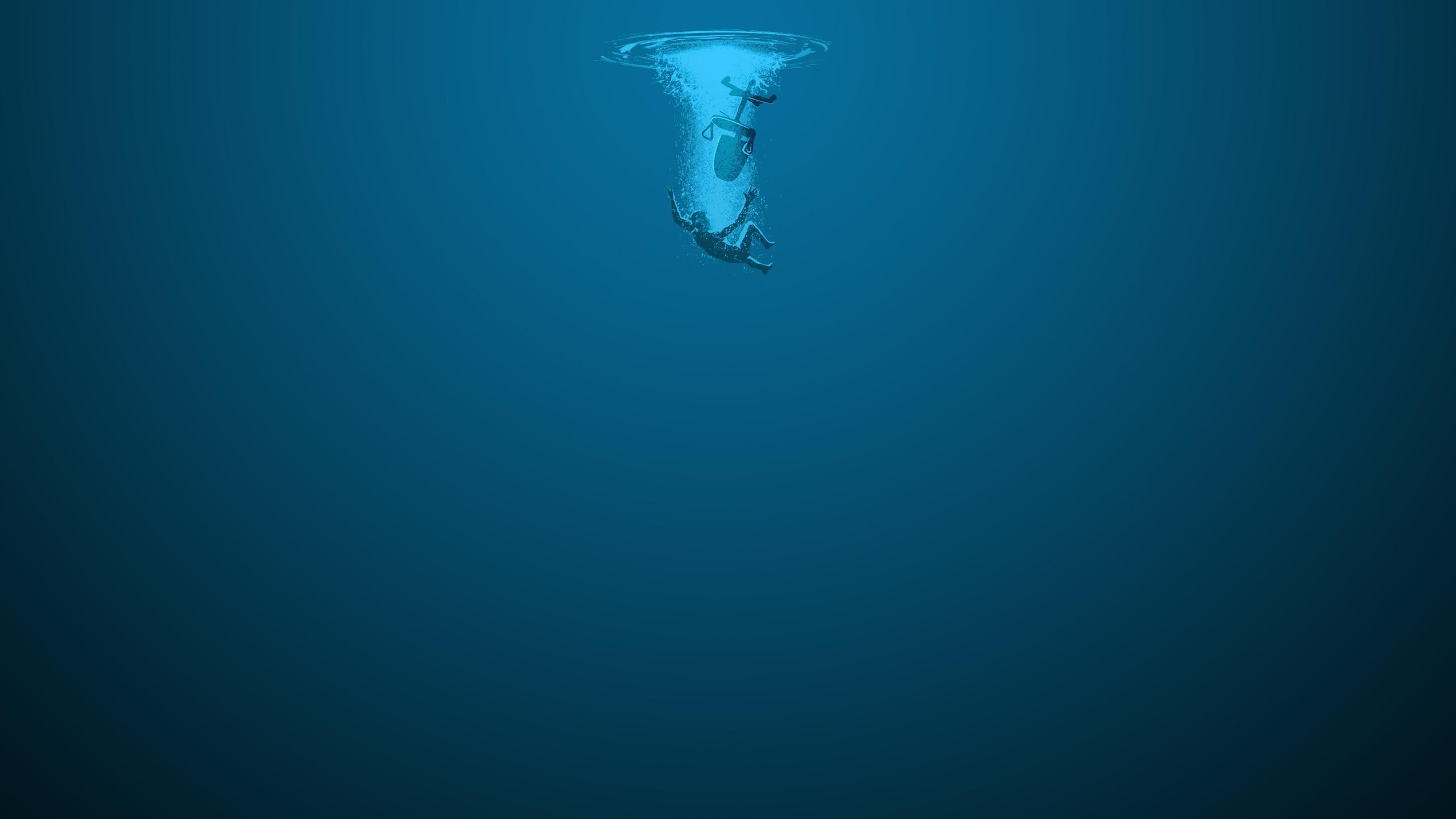 Fond Décran Mer Bleu Sous Marin Noyer La Biologie