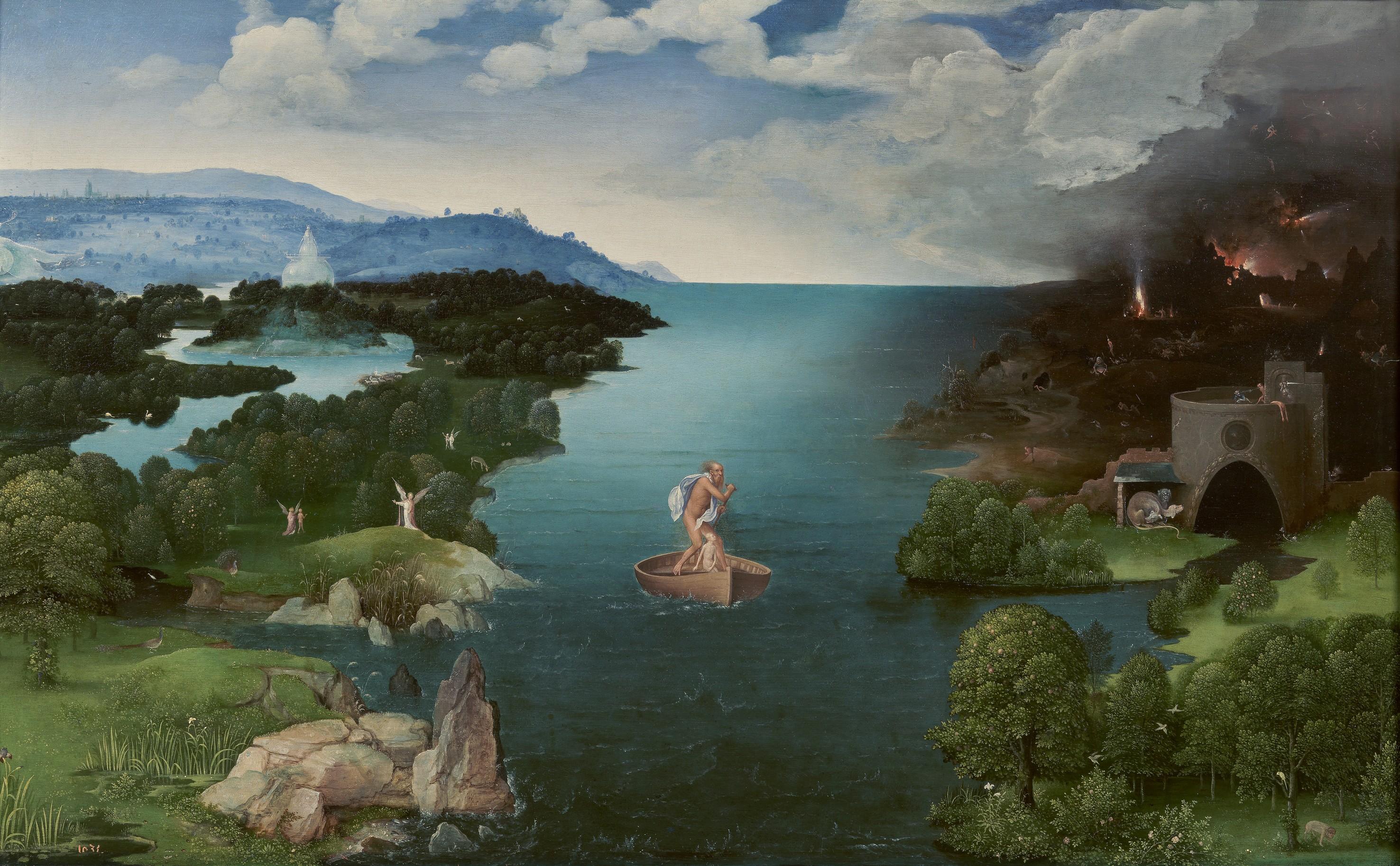 Wallpaper Sea Lake Reflection Greek Mythology Dante S
