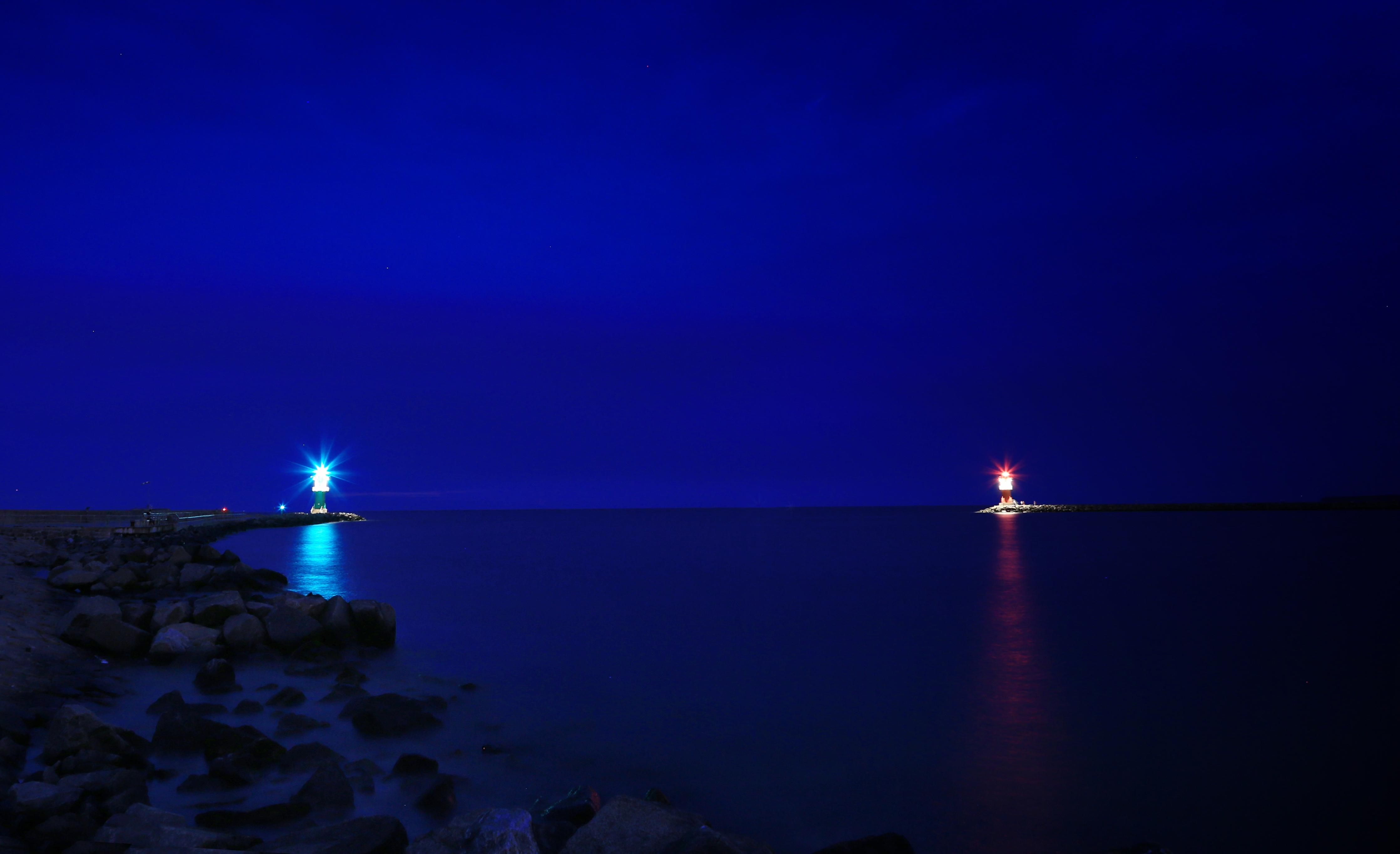 видела картинки ночь на побережье сайте