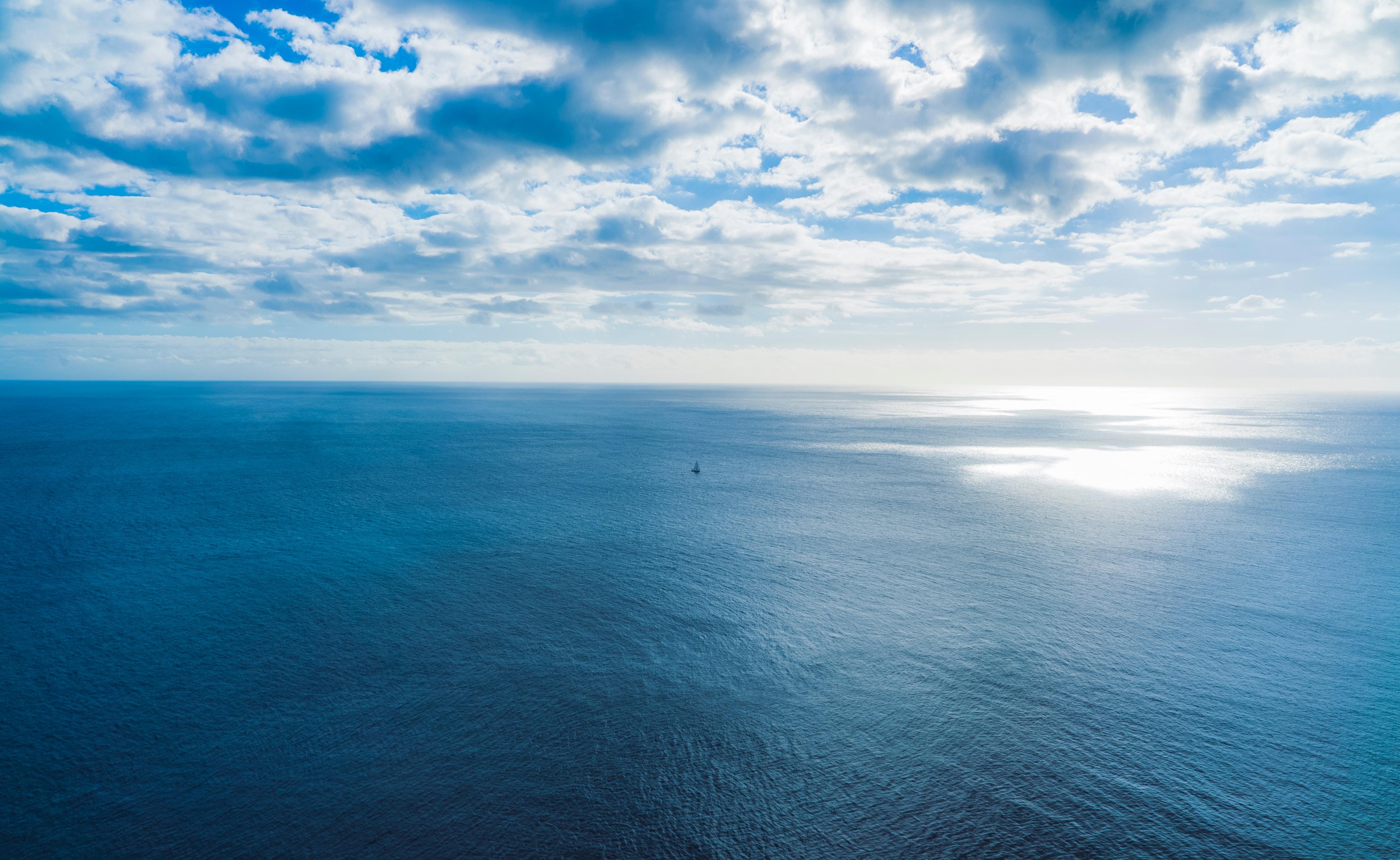 Синие море и небо картинки