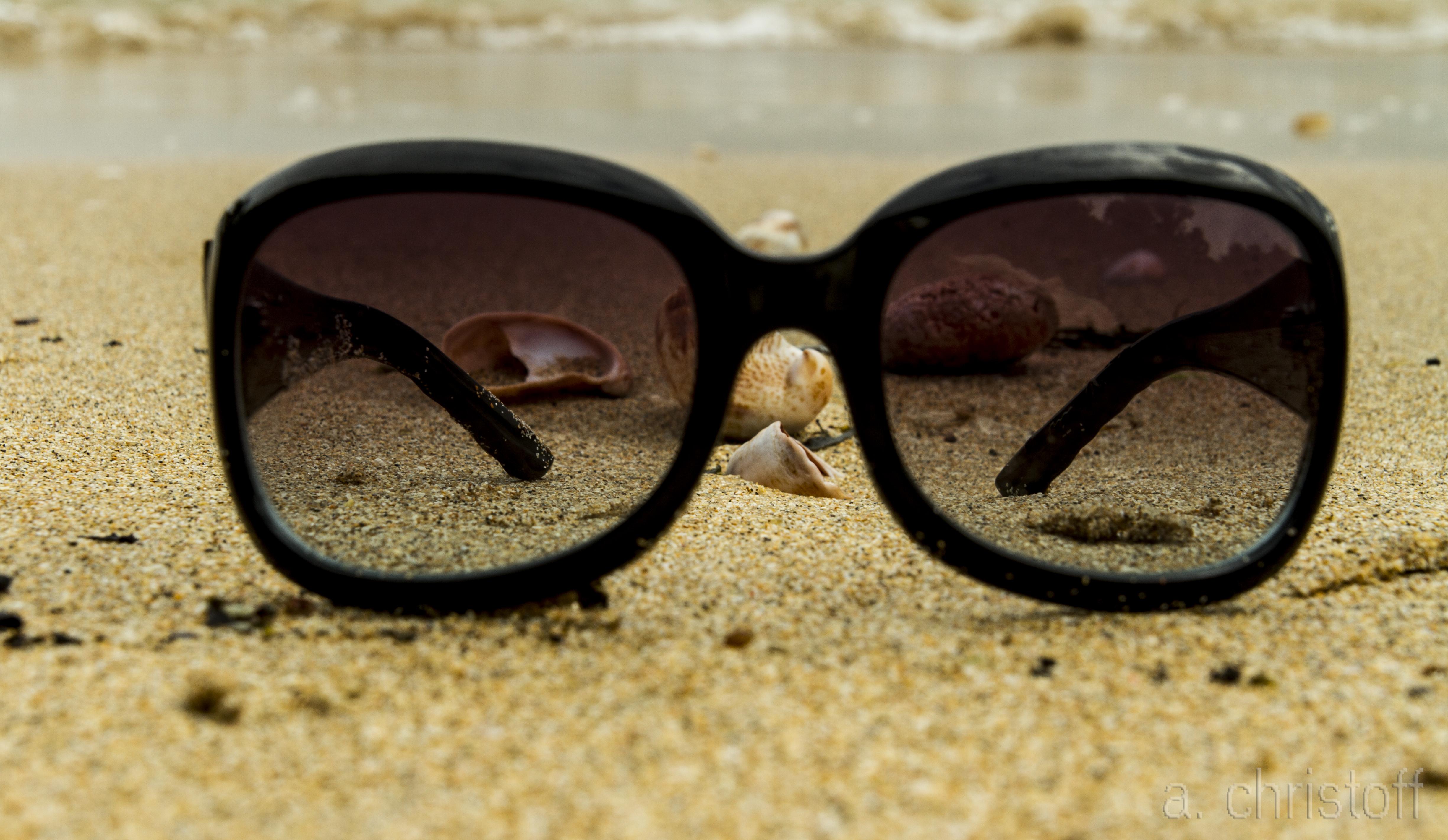 Картинки песок с очками