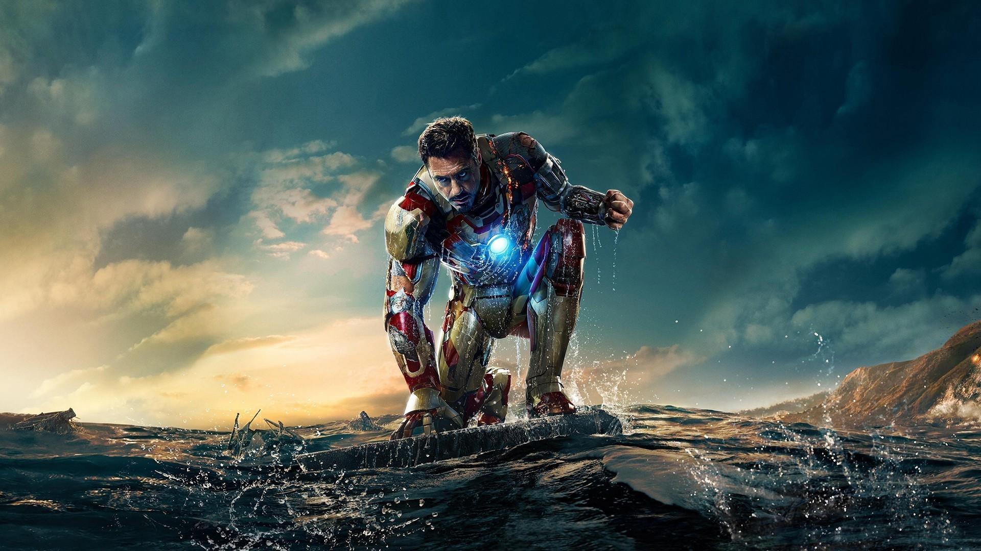 Wallpaper Sea Vehicle Iron Man Iron Man 3 Robert Downey Jr