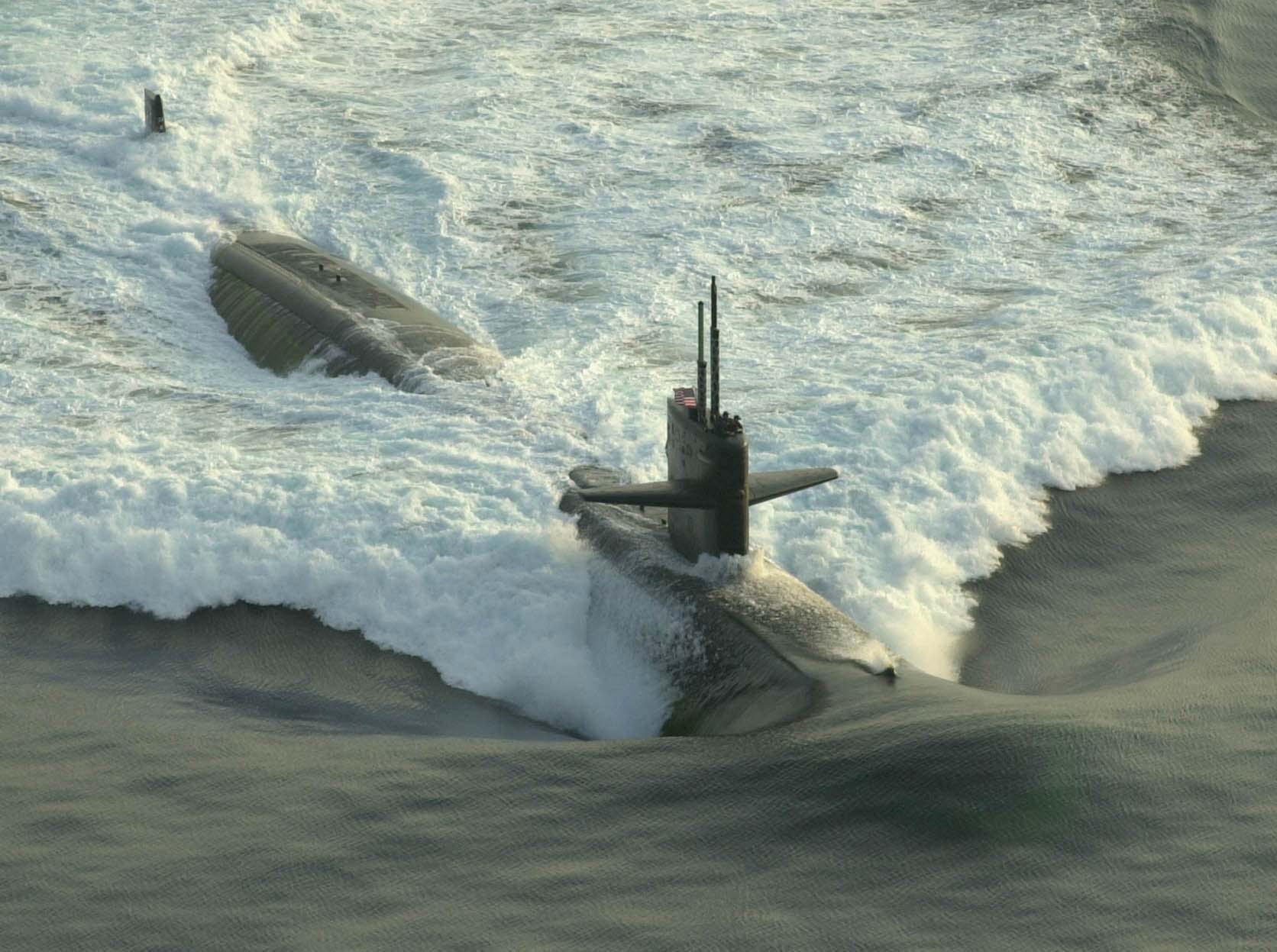 обитающие фото всплывающих подводных лодок действует