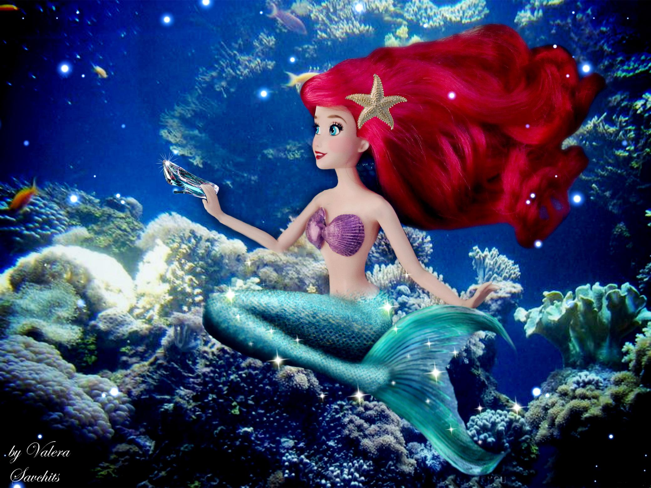 Sfondi mare acqua cartone animato magia subacqueo