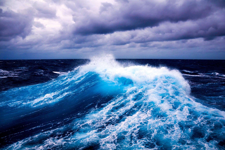 Wallpaper : laut, pantai, langit, tenang, badai, ombak, horison