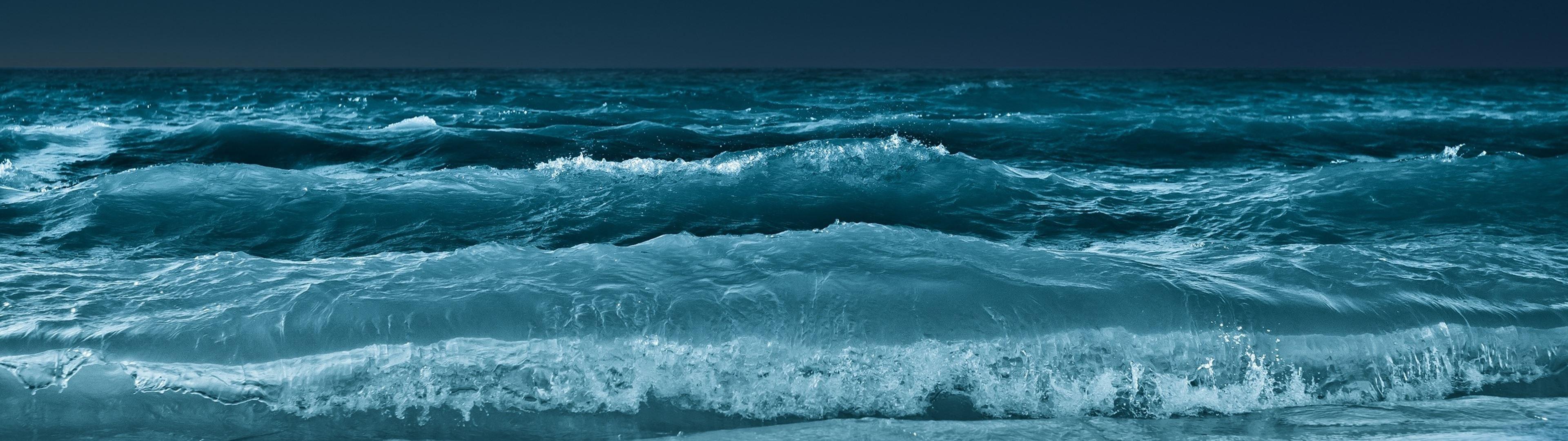 Как сделать море или океан