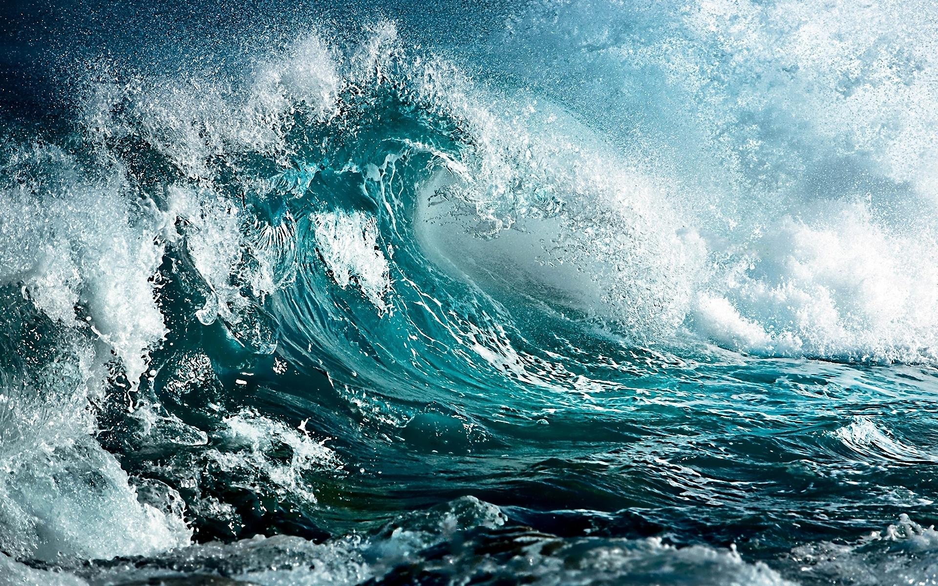 Wallpaper Sea Wave Storm Art Colors 1920x1200