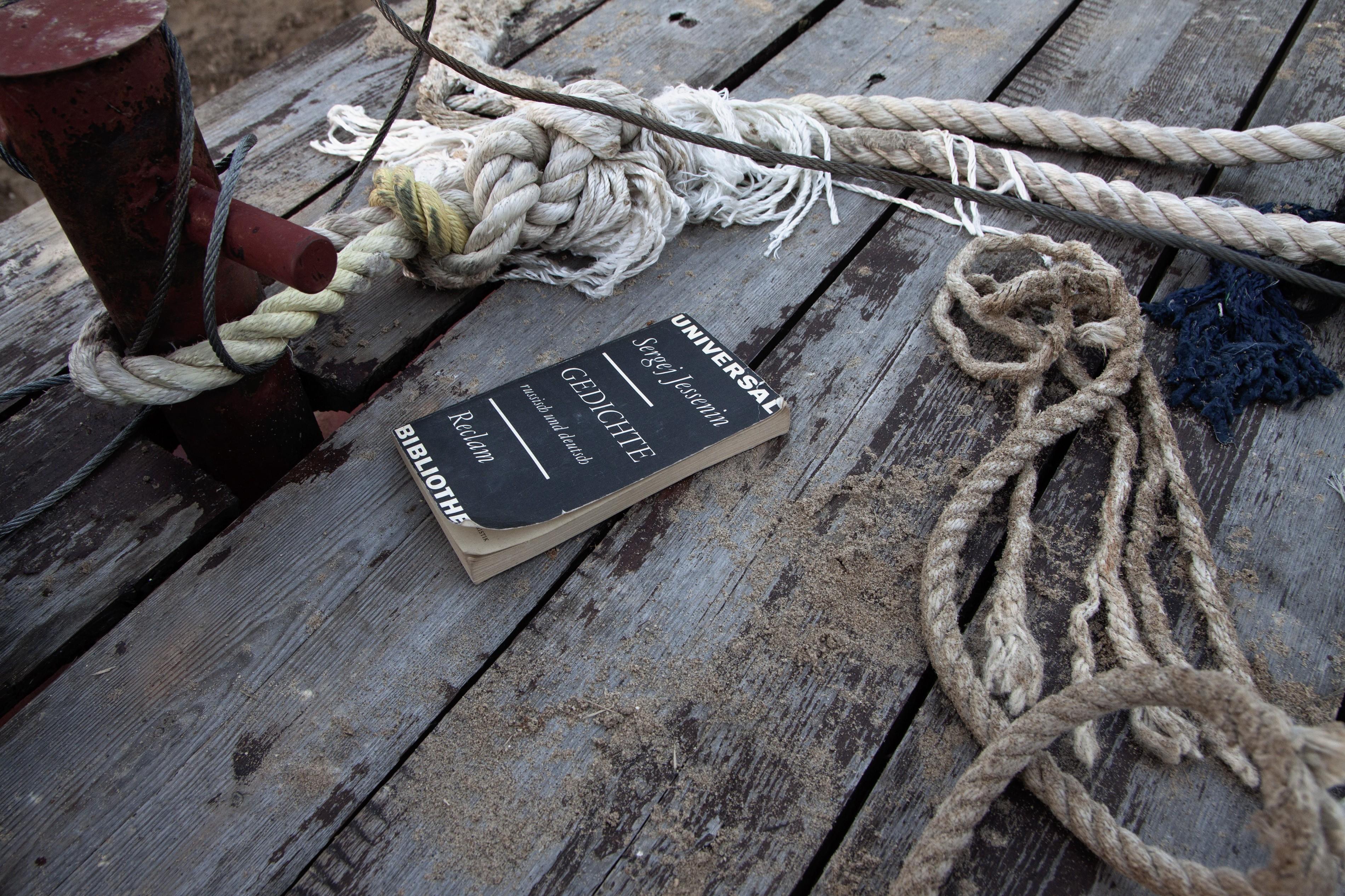 Wallpaper Sea Wood Books Ropes Pier Anchors Book