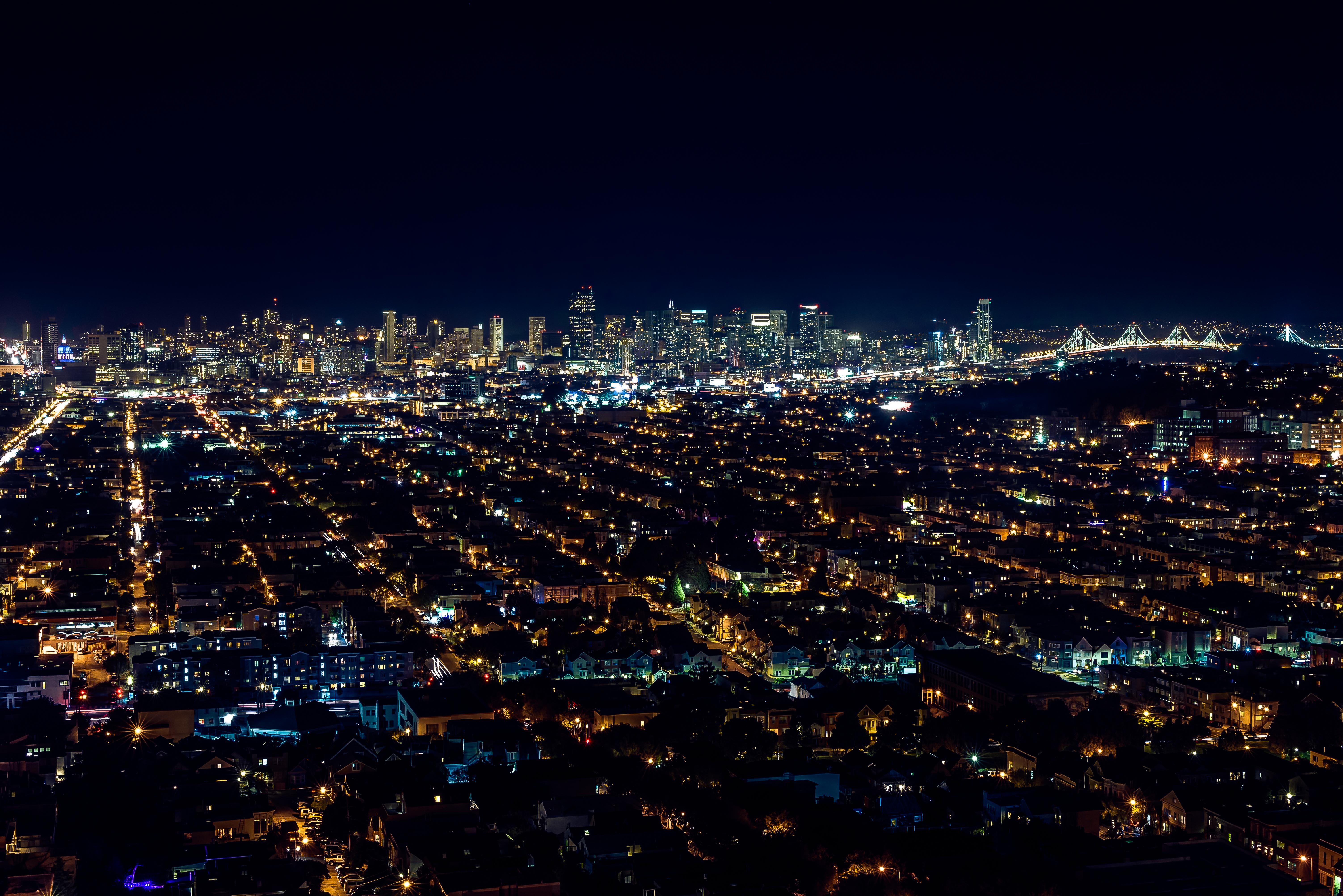 Hintergrundbilder : Sf, Kalifornien, Ca, Stadt, Brücke, Ex, Skyline ...