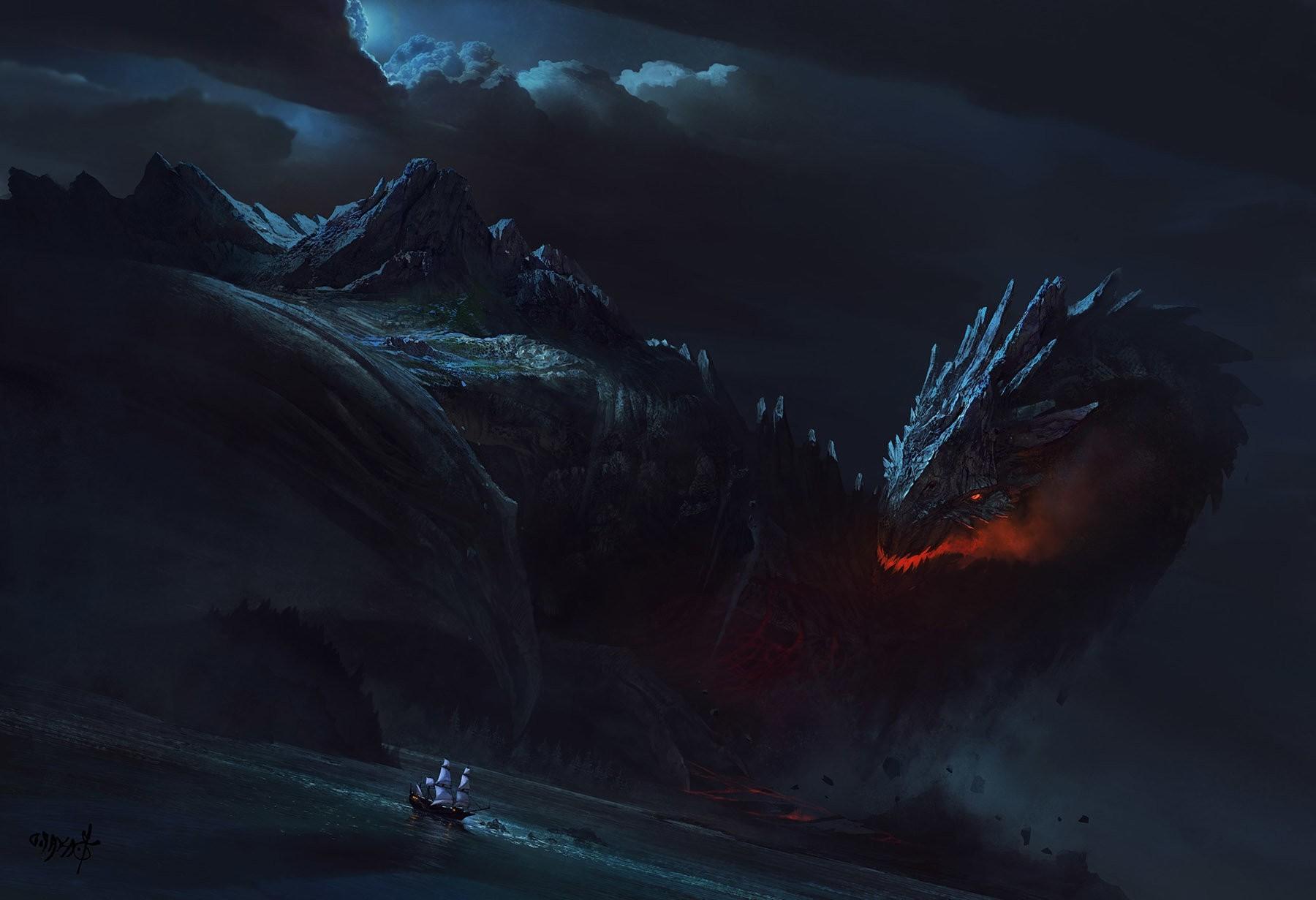 Best Wallpaper Night Dragon - ship-fantasy-art-night-dragon-ghost-ship-Terrain-wave-darkness-screenshot-computer-wallpaper-geological-phenomenon-1800x1231-px-611456  HD.jpg