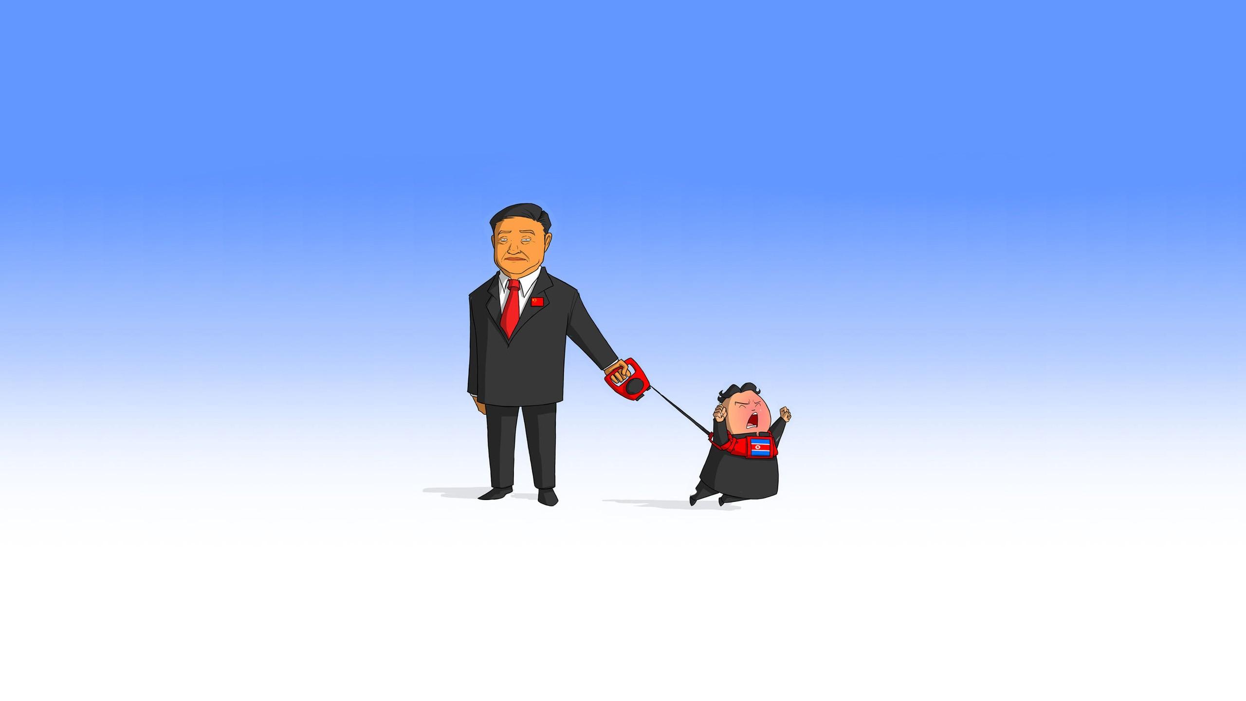 Wallpaper Simple Background China Cartoon Brand Walking Play North Korea Leash 2560x1440 Px 2560x1440 525938 Hd Wallpapers Wallhere